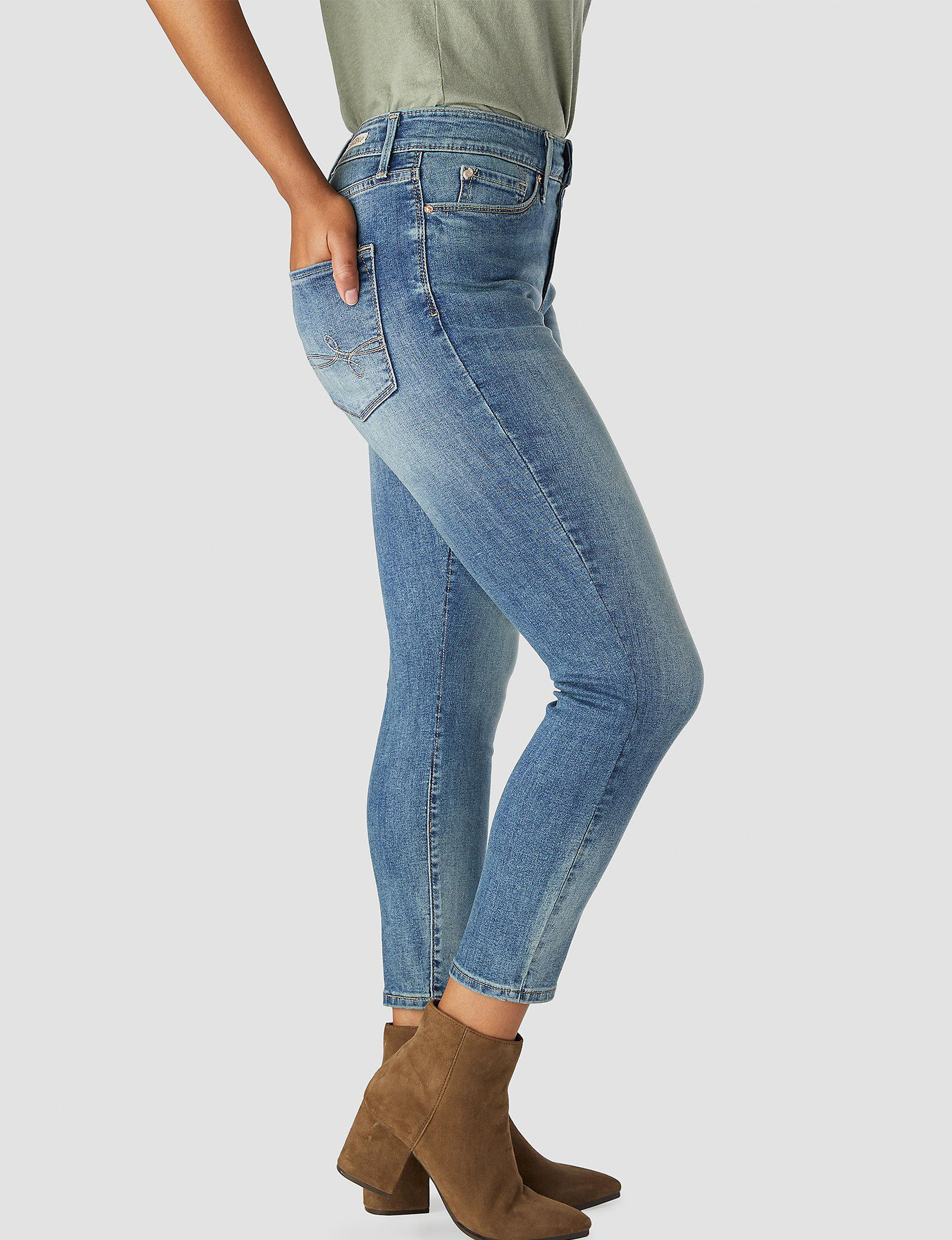 e193351ae132b Denizen from Levi s High Rise Ankle Skinny Jeans