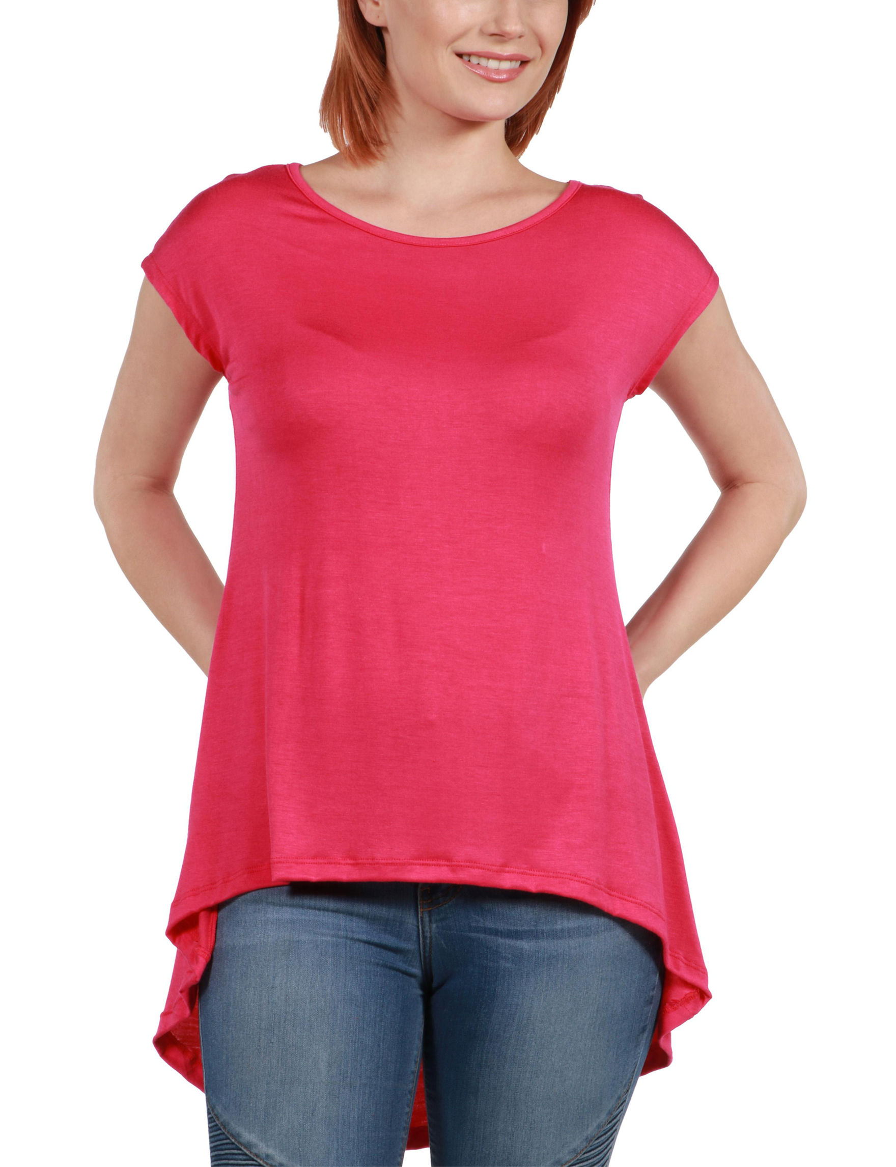 24Seven Comfort Apparel Pink