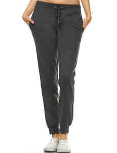10cd5741ccc29c White Mark Charcoal Soft Pants
