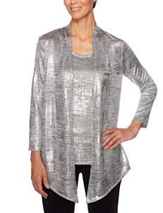 62a4d96819f6a Ruby Road Grey Shirts   Blouses