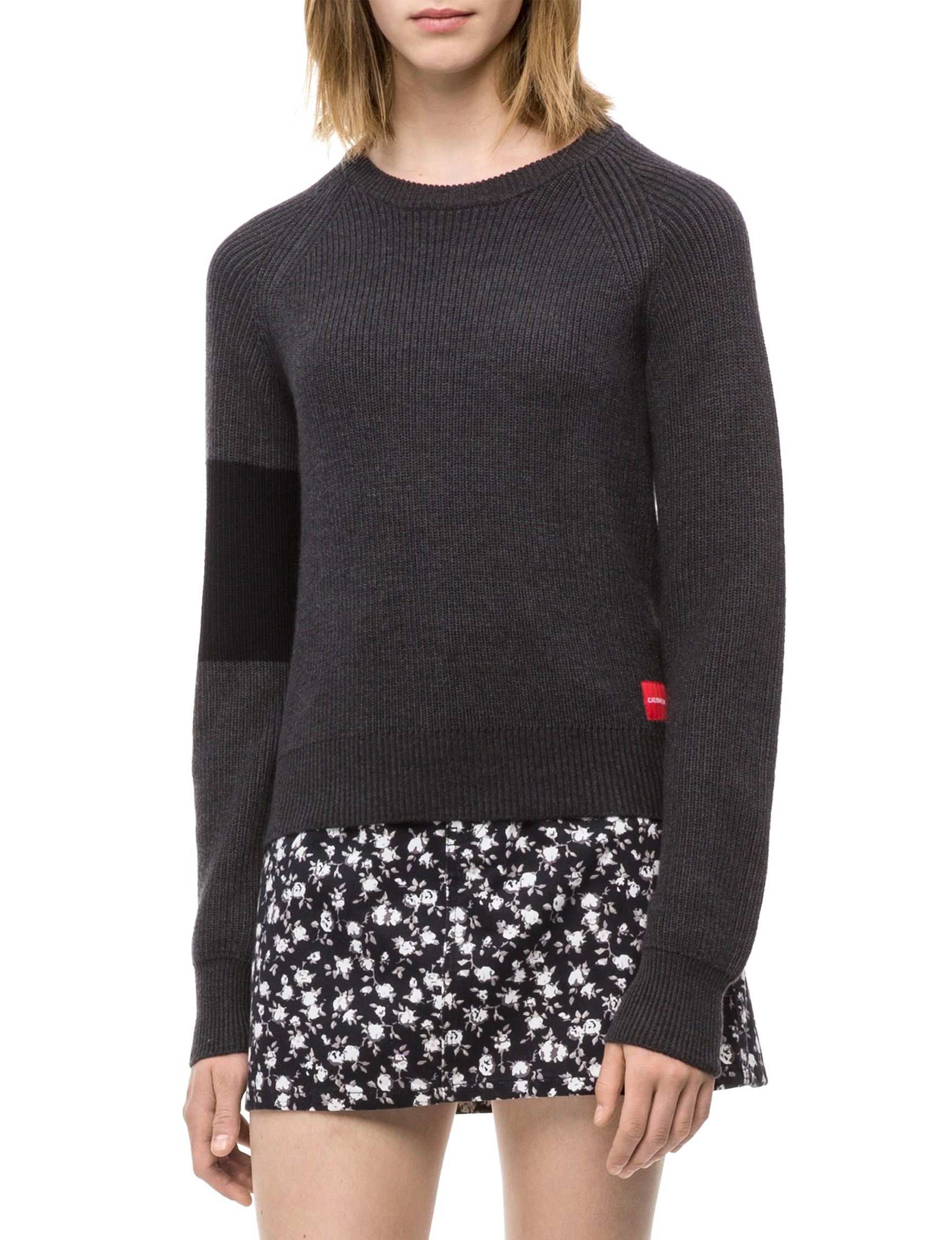 Calvin Klein Jeans Textured Pullover Sweater eefb06a443