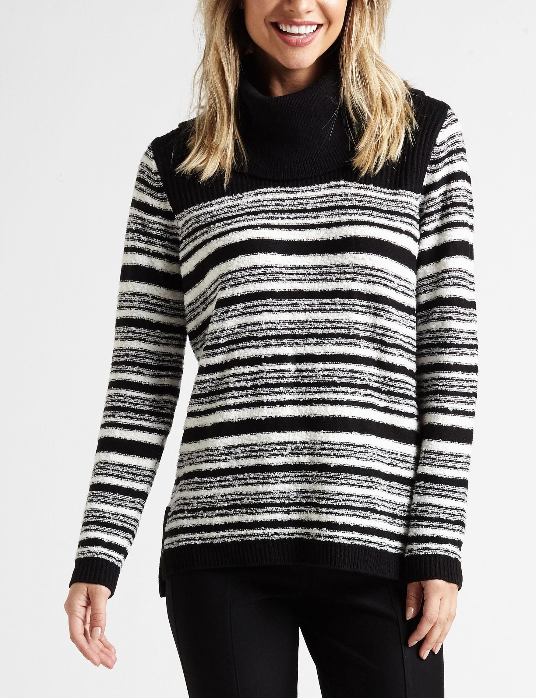 Calvin Klein Black /  White Pull-overs