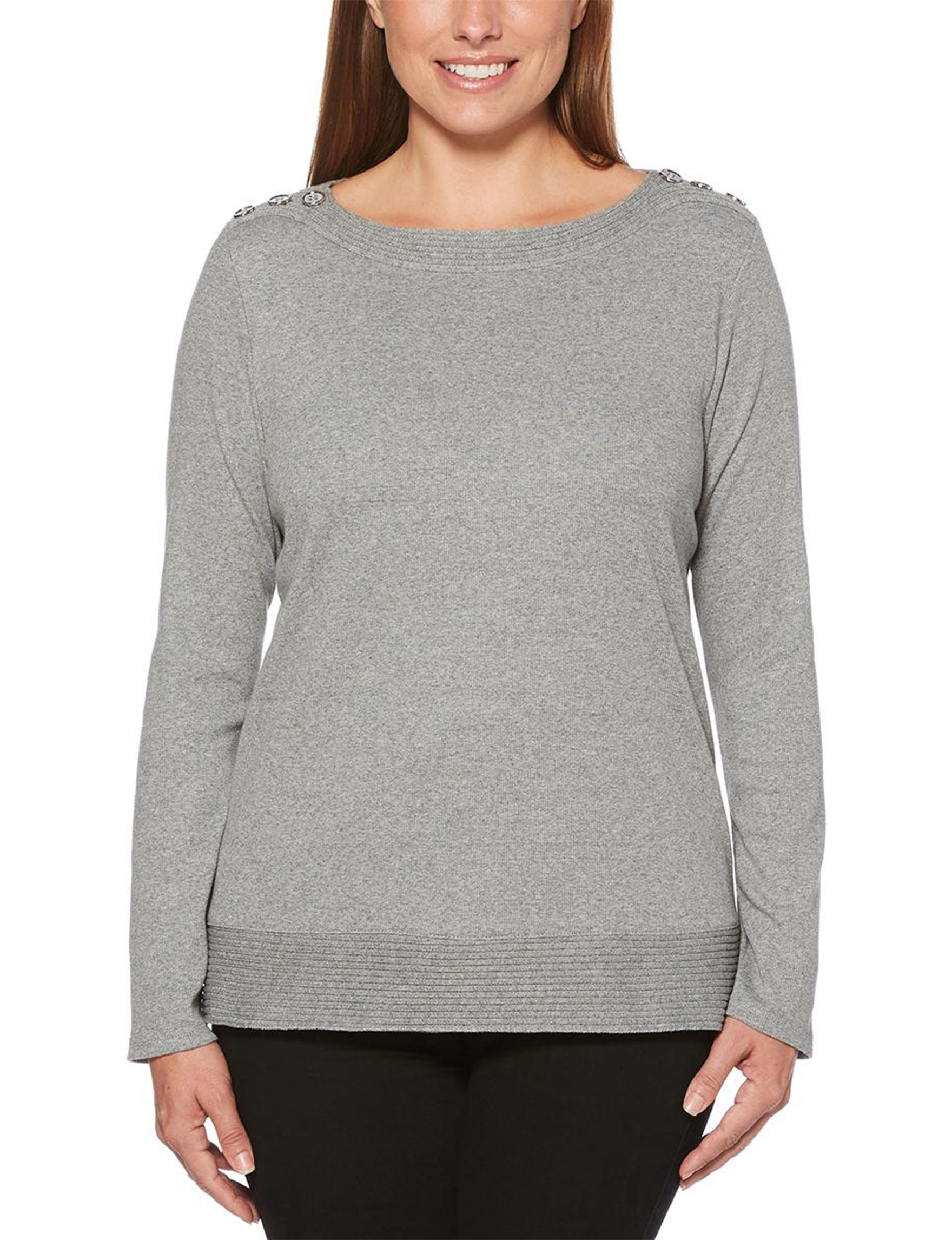 Rafaella Grey Shirts & Blouses