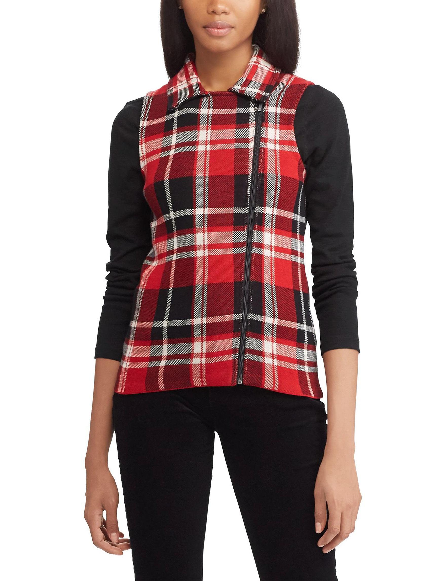 Chaps Red Lightweight Jackets & Blazers