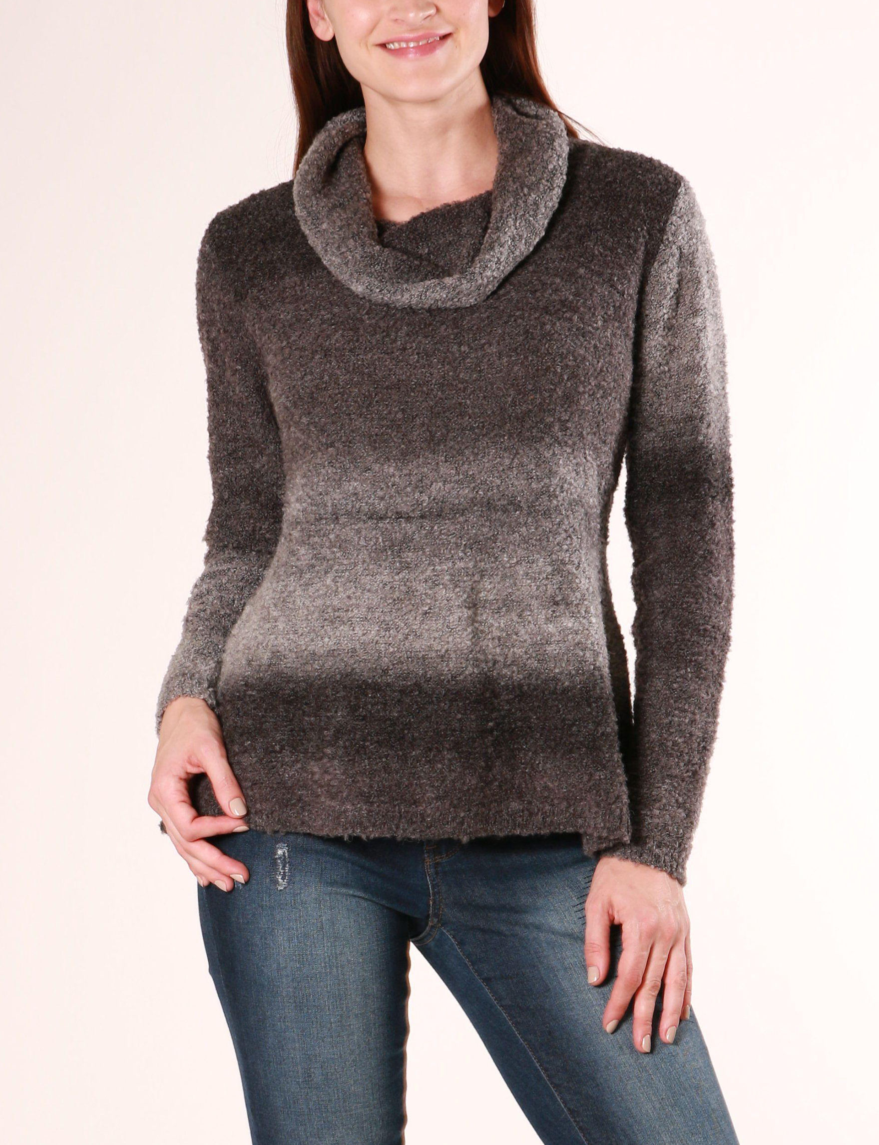 Skyes The Limit Charcoal Pull-overs