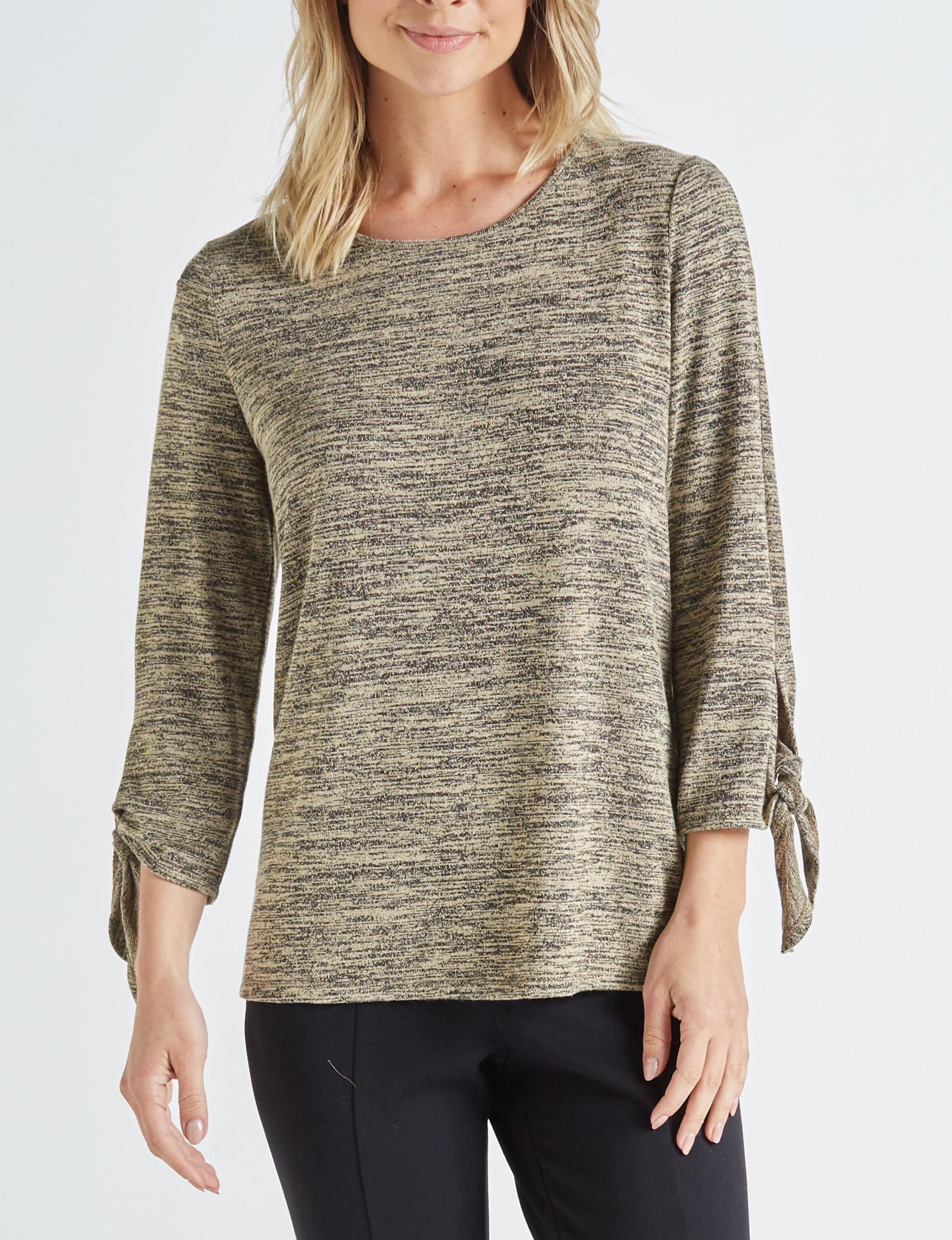 Zac & Rachel Olive Shirts & Blouses