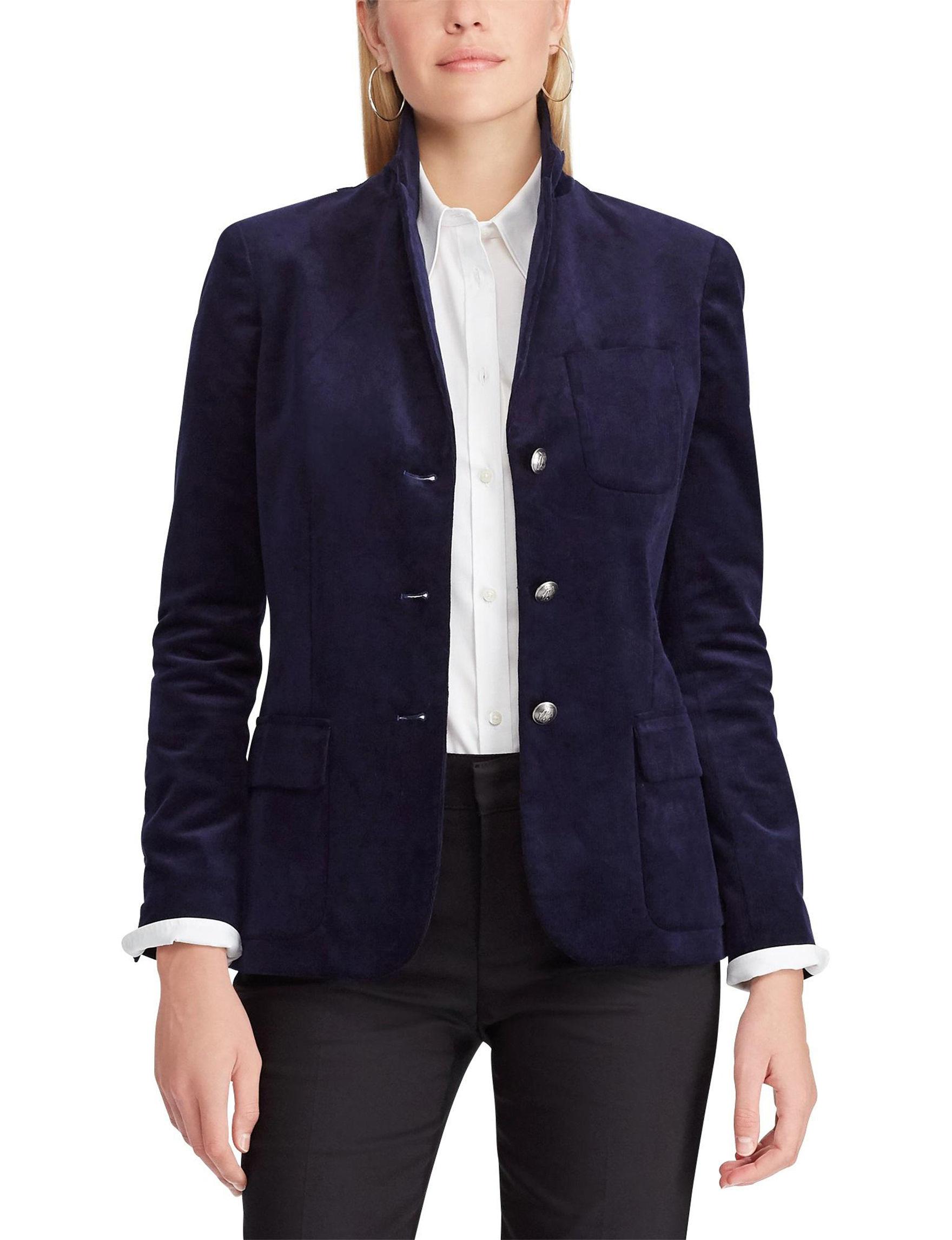 Chaps Navy Lightweight Jackets & Blazers