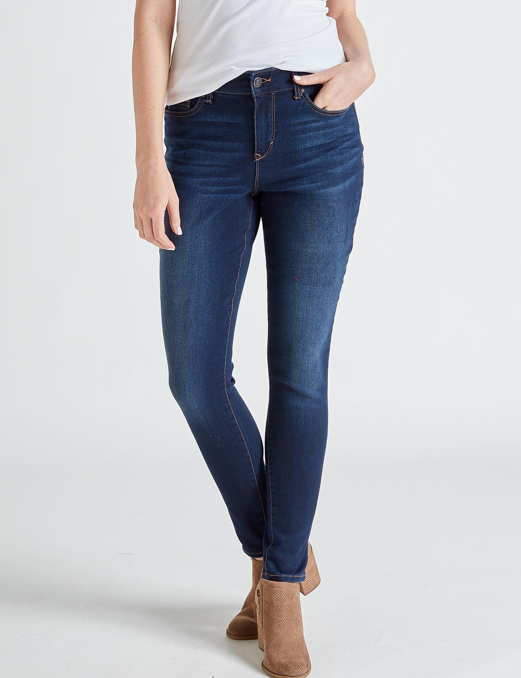 Gloria Vanderbilt Medium Blue Skinny