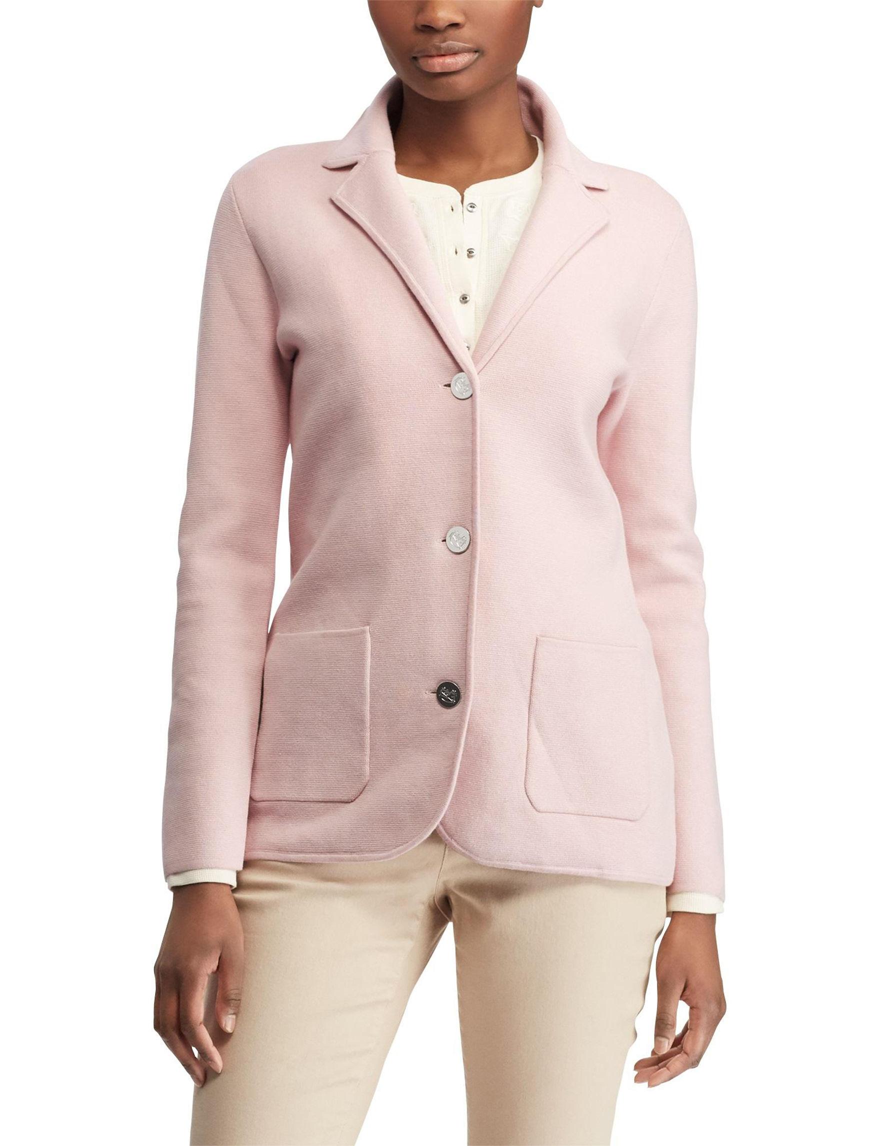 Chaps Pink Lightweight Jackets & Blazers