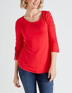 315d48af39c78 Doorbuster Hannah Red Shirts   Blouses