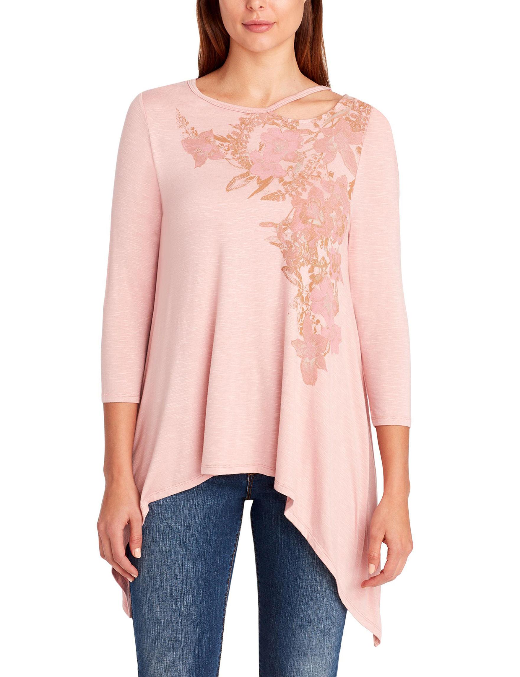 Nine West Pink Shirts & Blouses