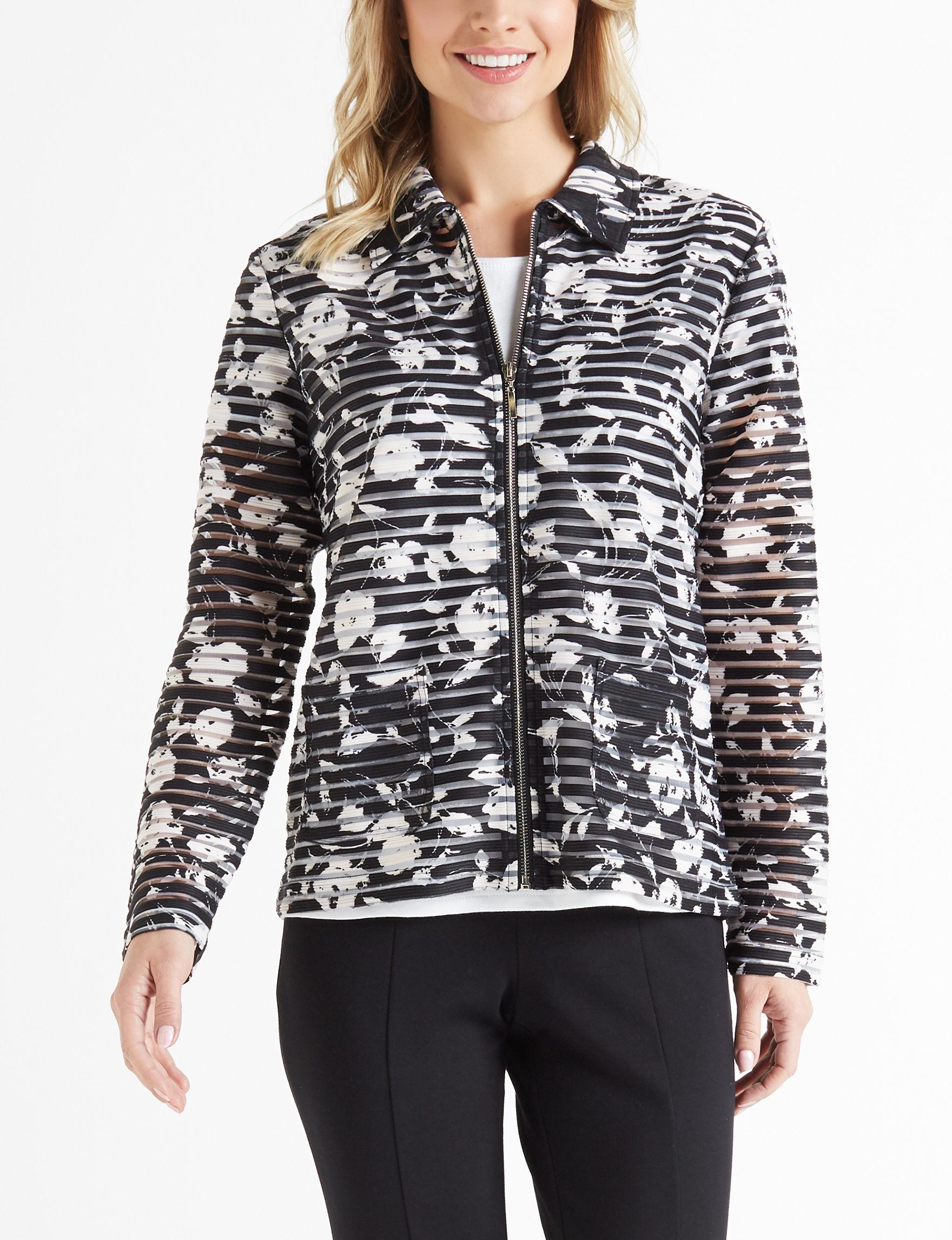Cathy Daniels Black Lightweight Jackets & Blazers