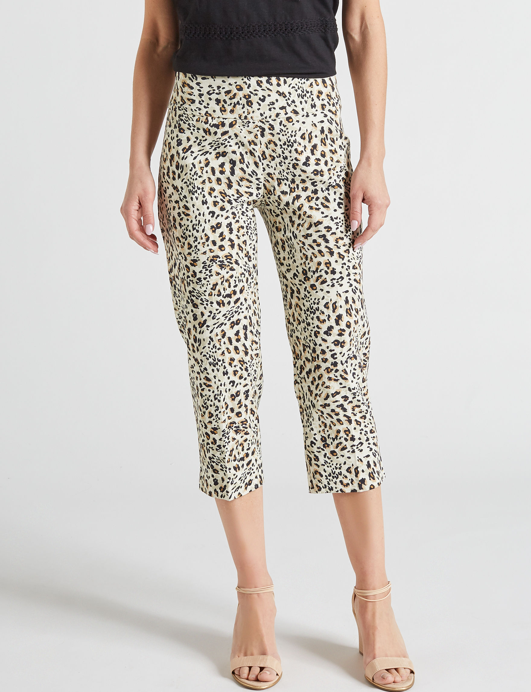Zac & Rachel Brown Cheetah Capris & Crops