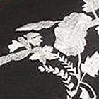 Black / White / Floral