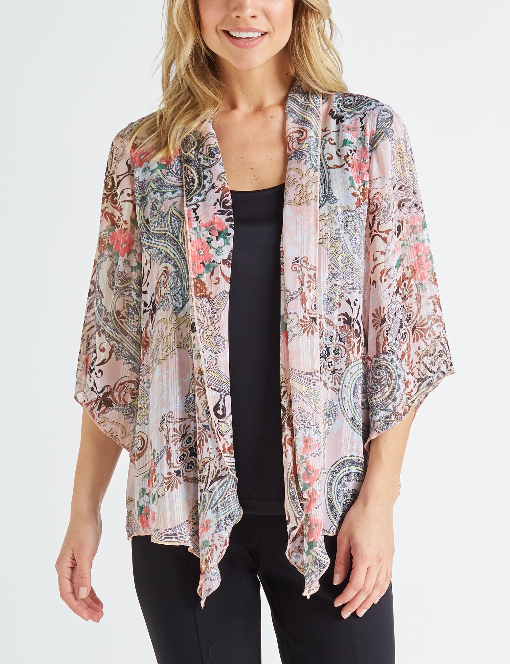 Sara Michelle Pink / Black Shirts & Blouses