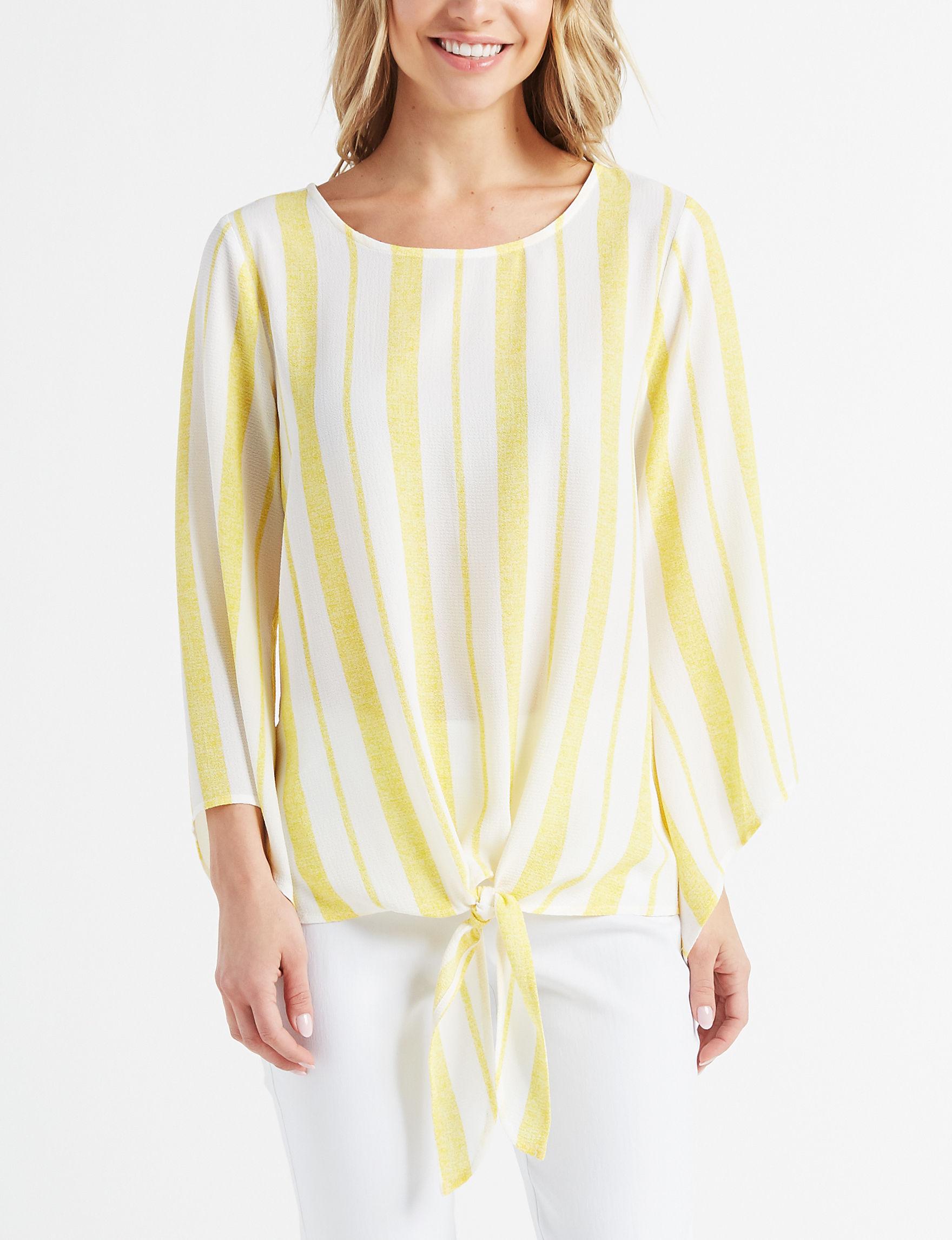 Cocomo Yellow Shirts & Blouses