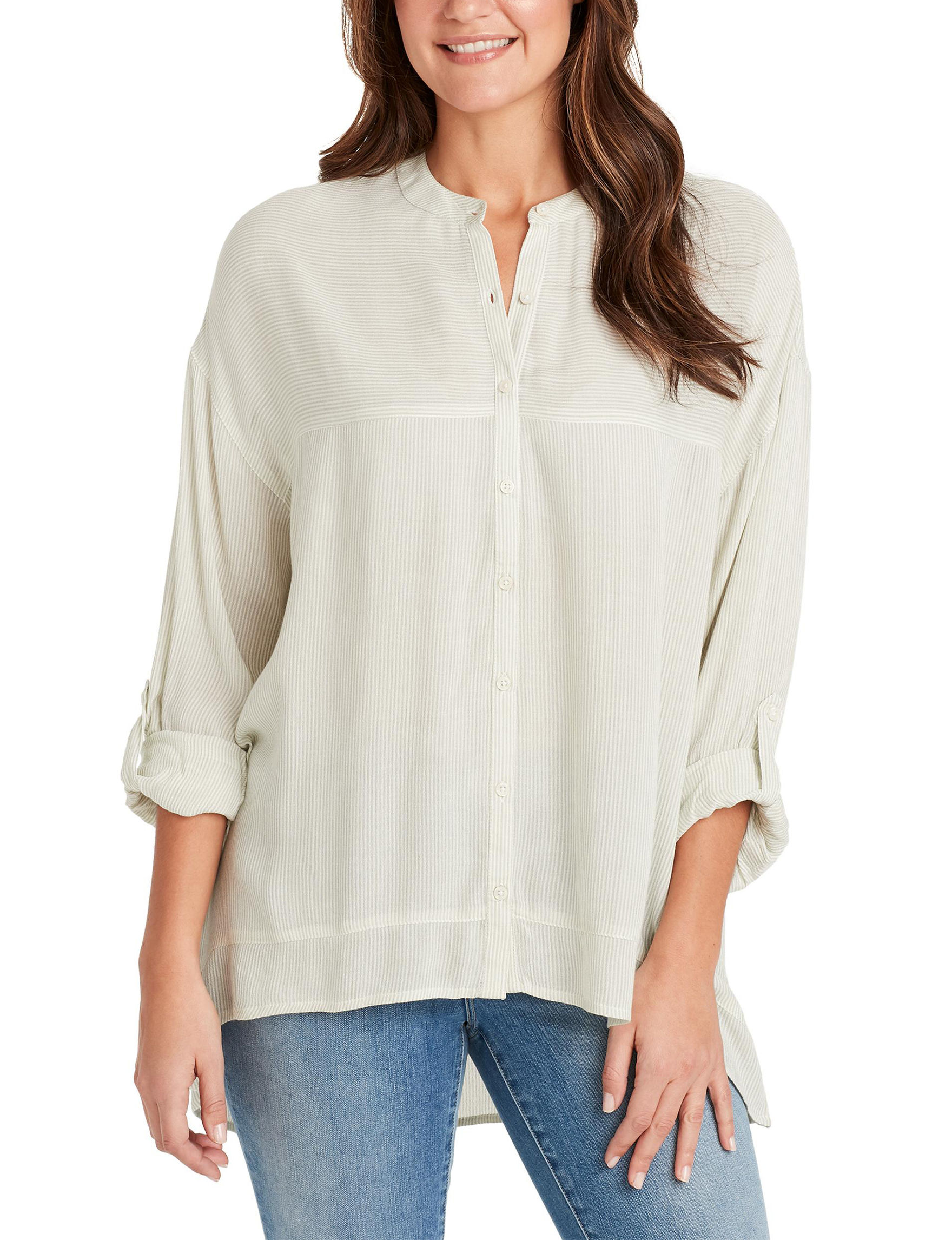 Nine West Seagreen Shirts & Blouses