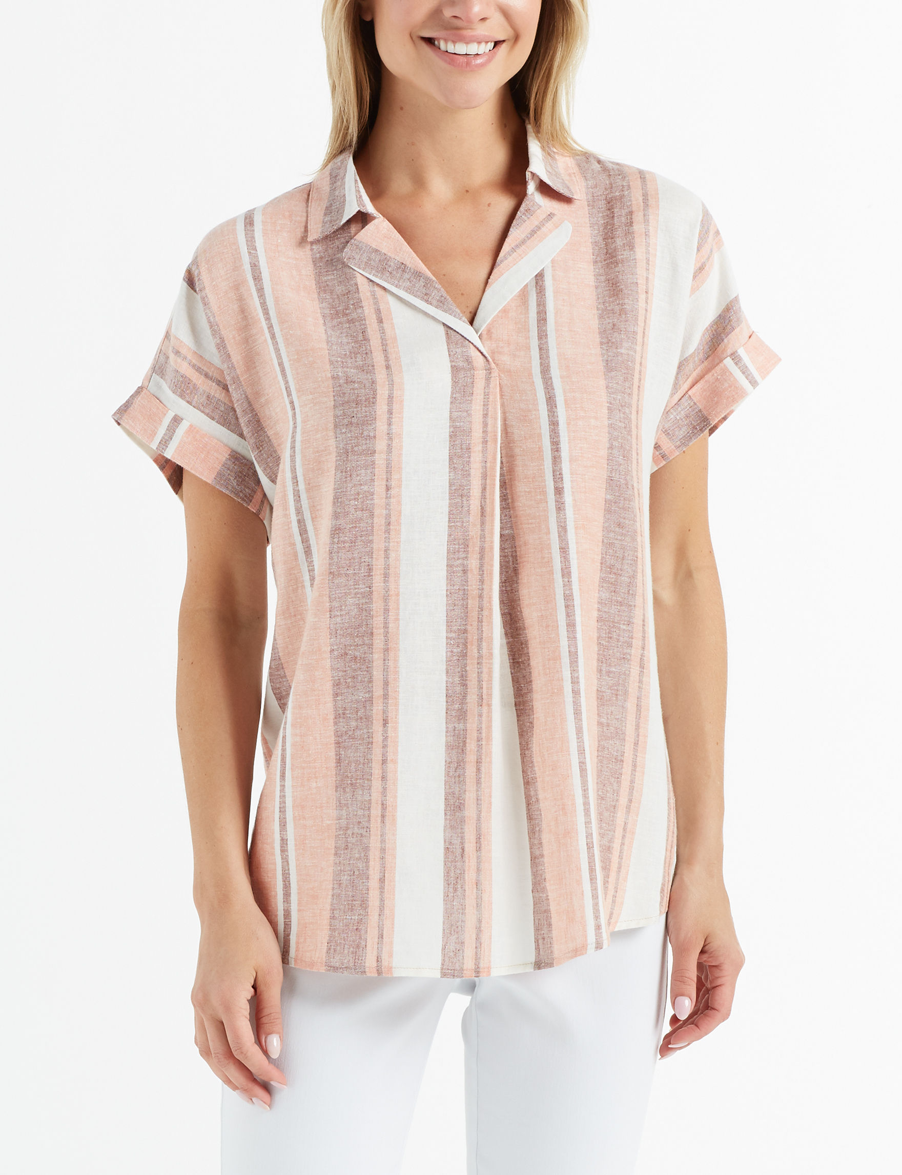 Fred David Beige Shirts & Blouses