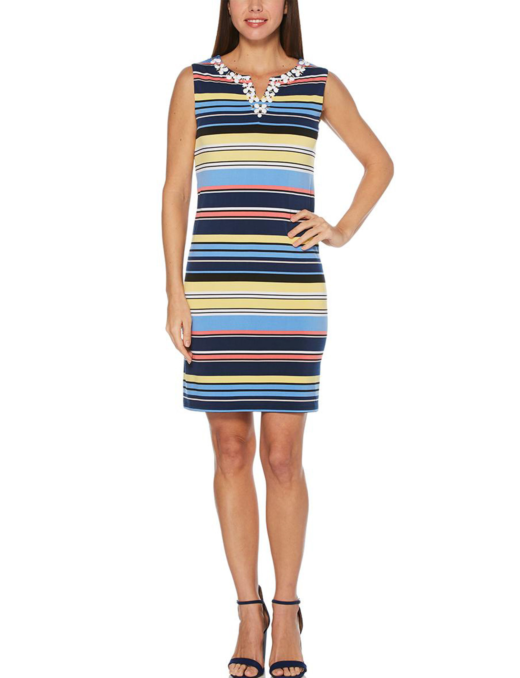Ruby Road Blue Multi Everyday & Casual Sundresses