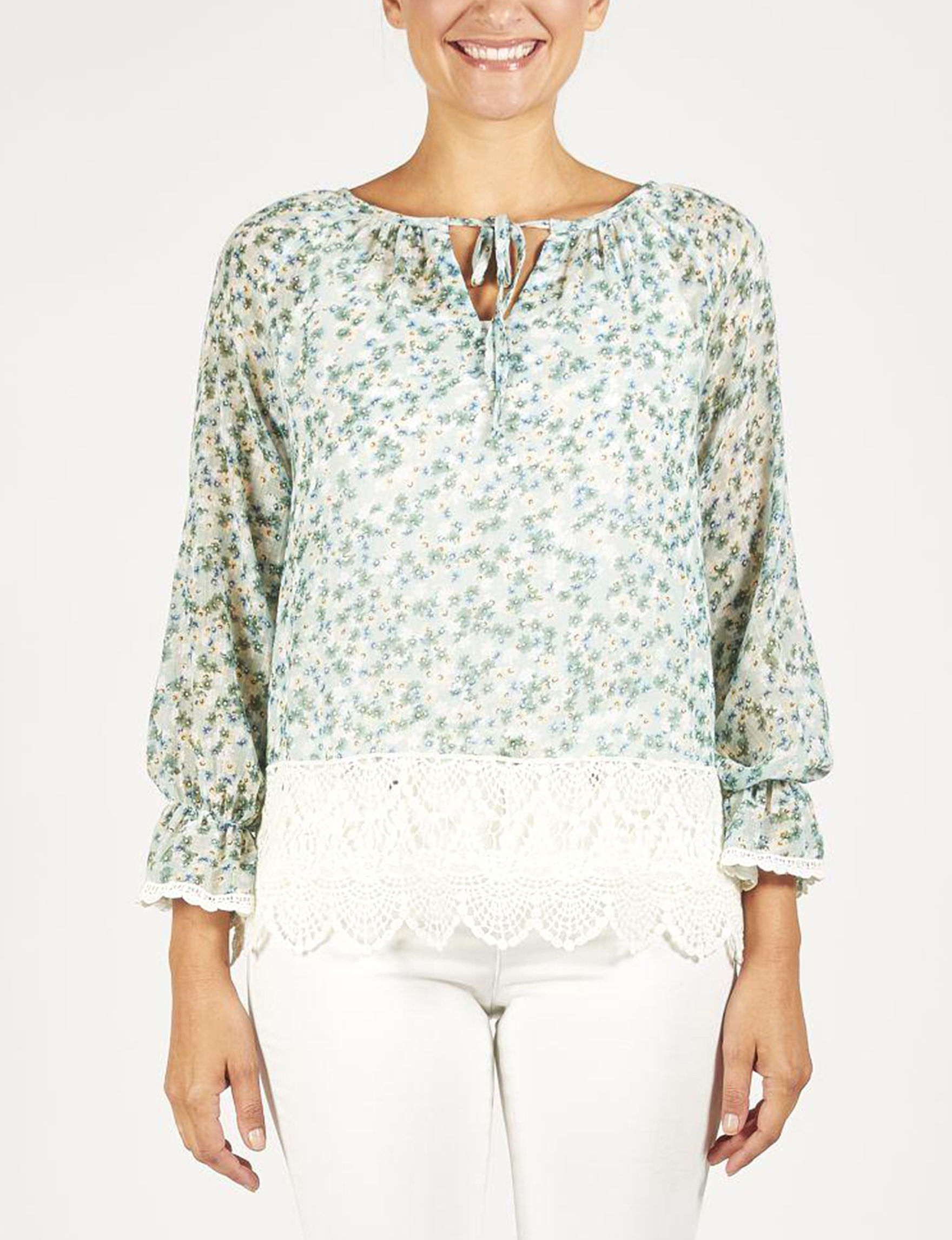 Skyes The Limit Mint Shirts & Blouses