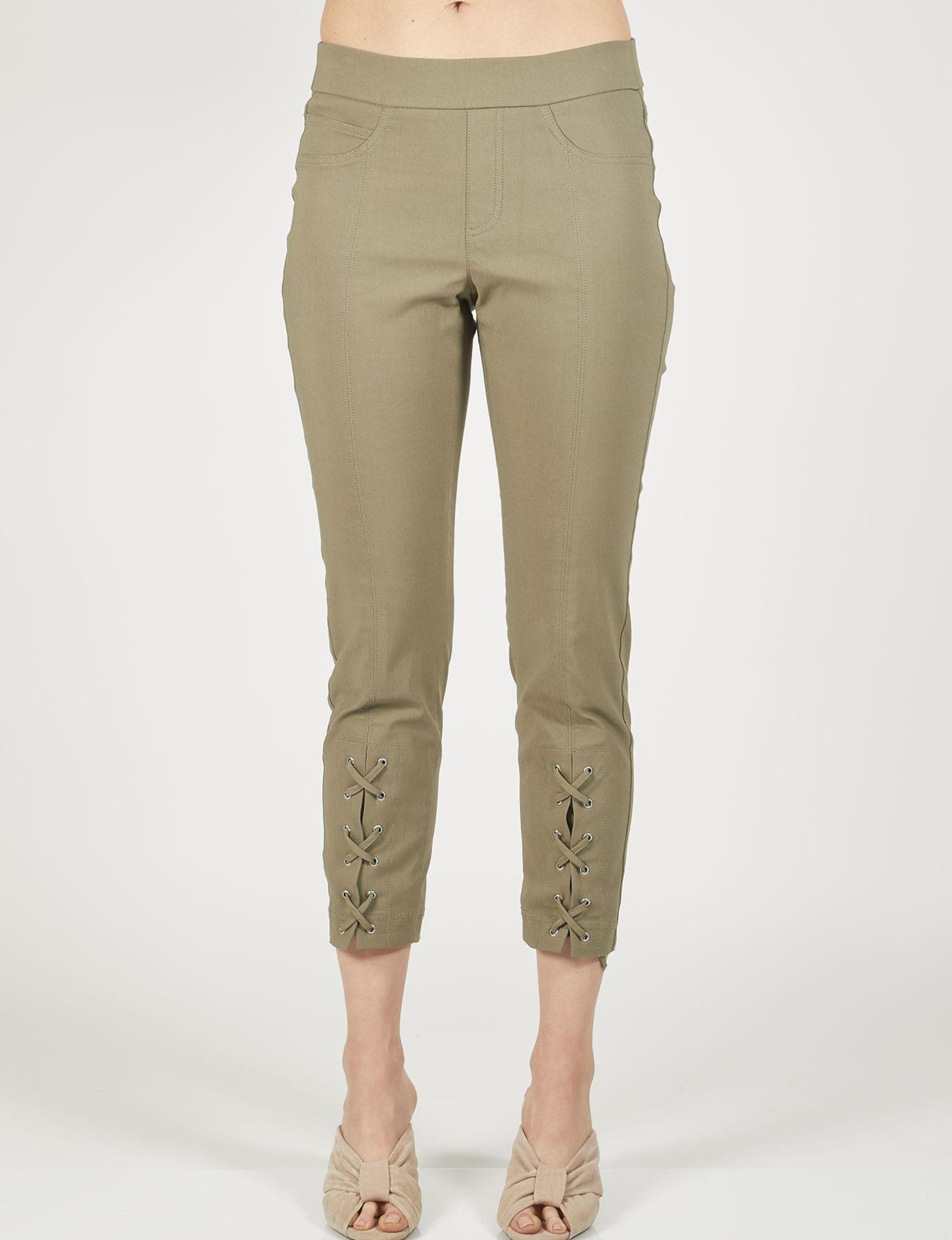 Skyes The Limit Olive Capris & Crops
