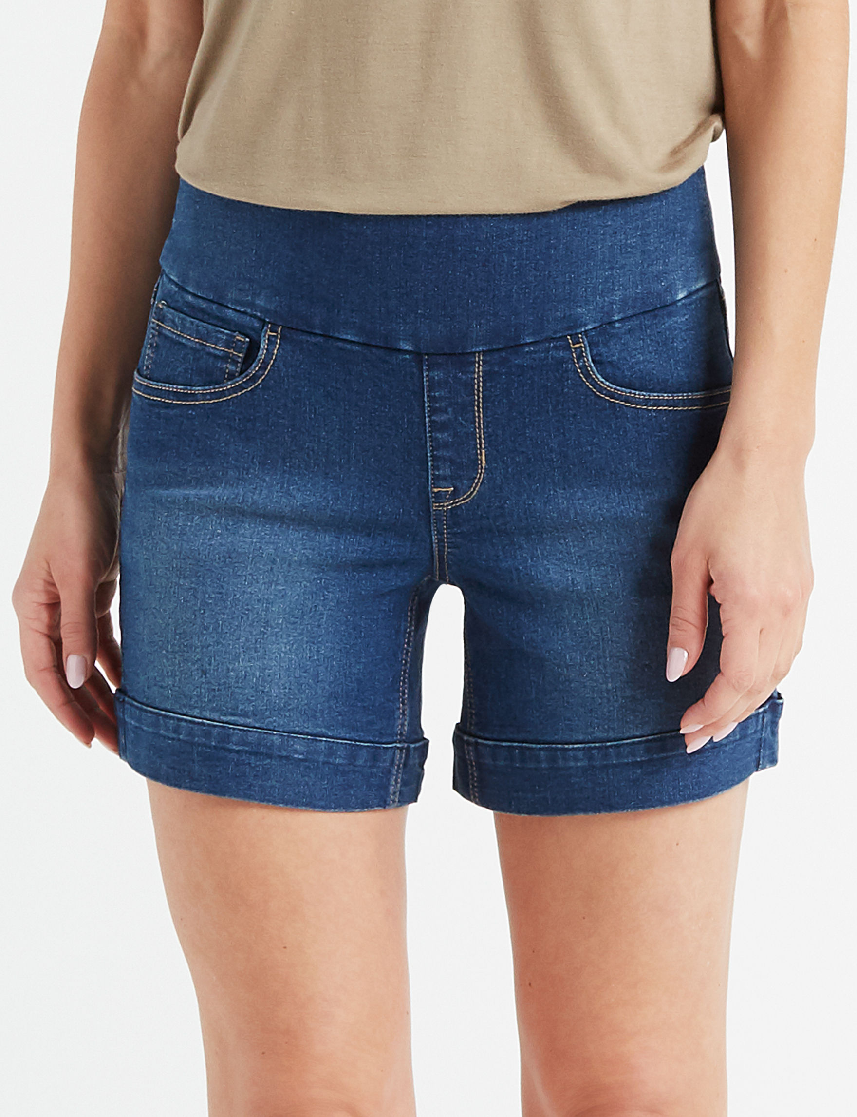 Hannah Blue Denim Shorts