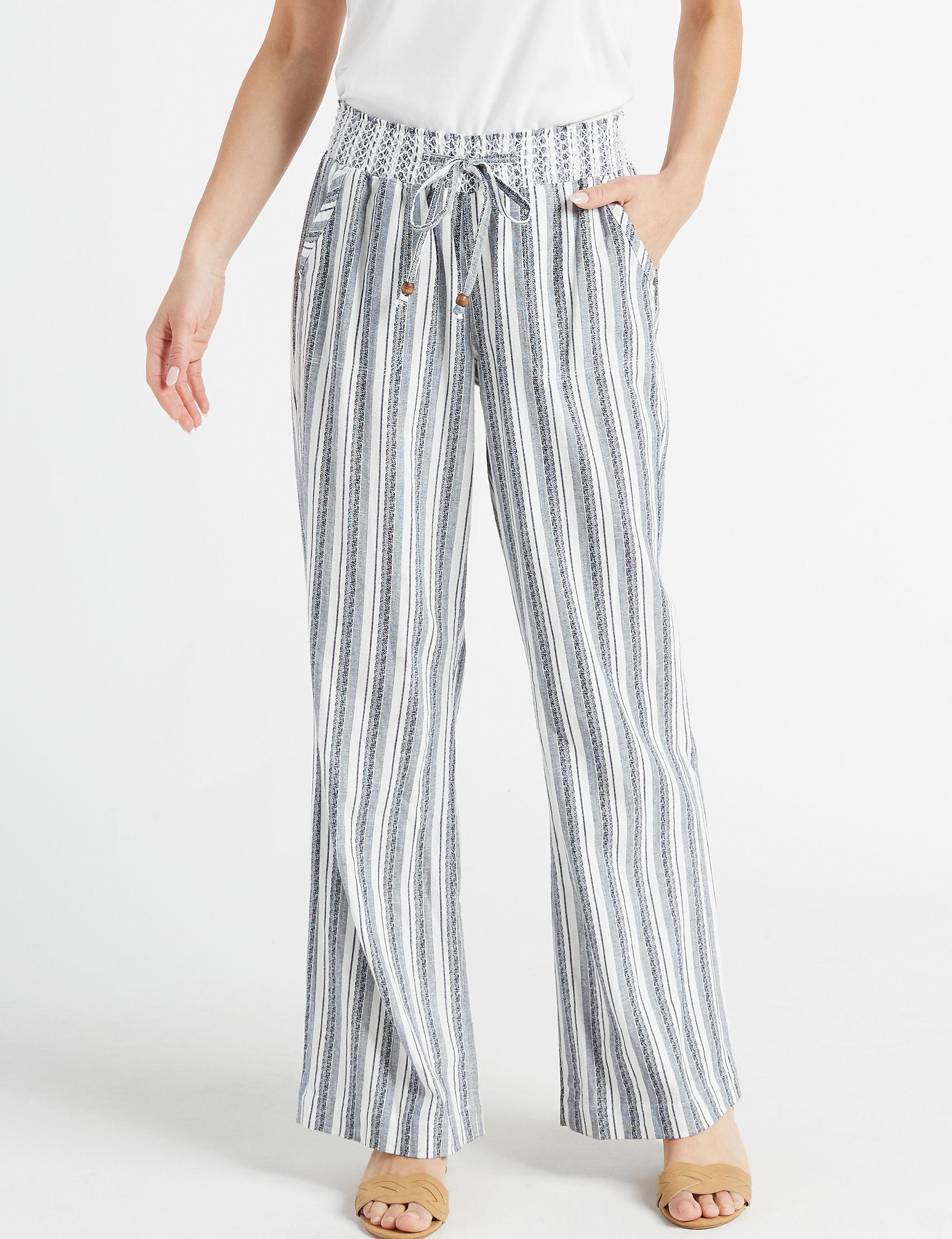 Sound Style Navy Multi Soft Pants