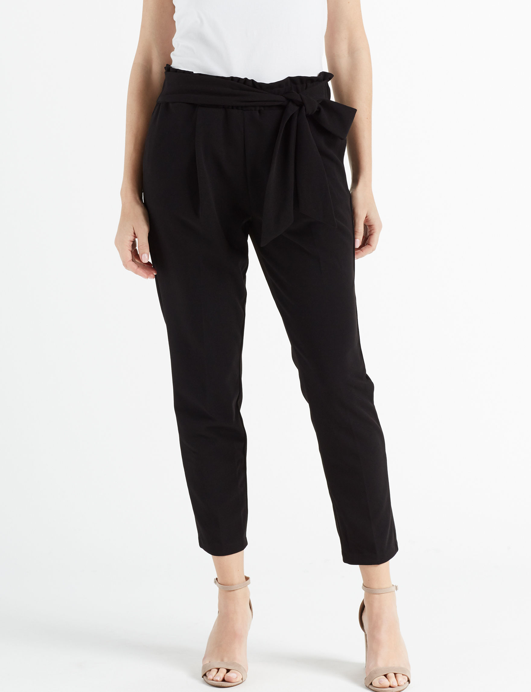 One 5 One Black Soft Pants