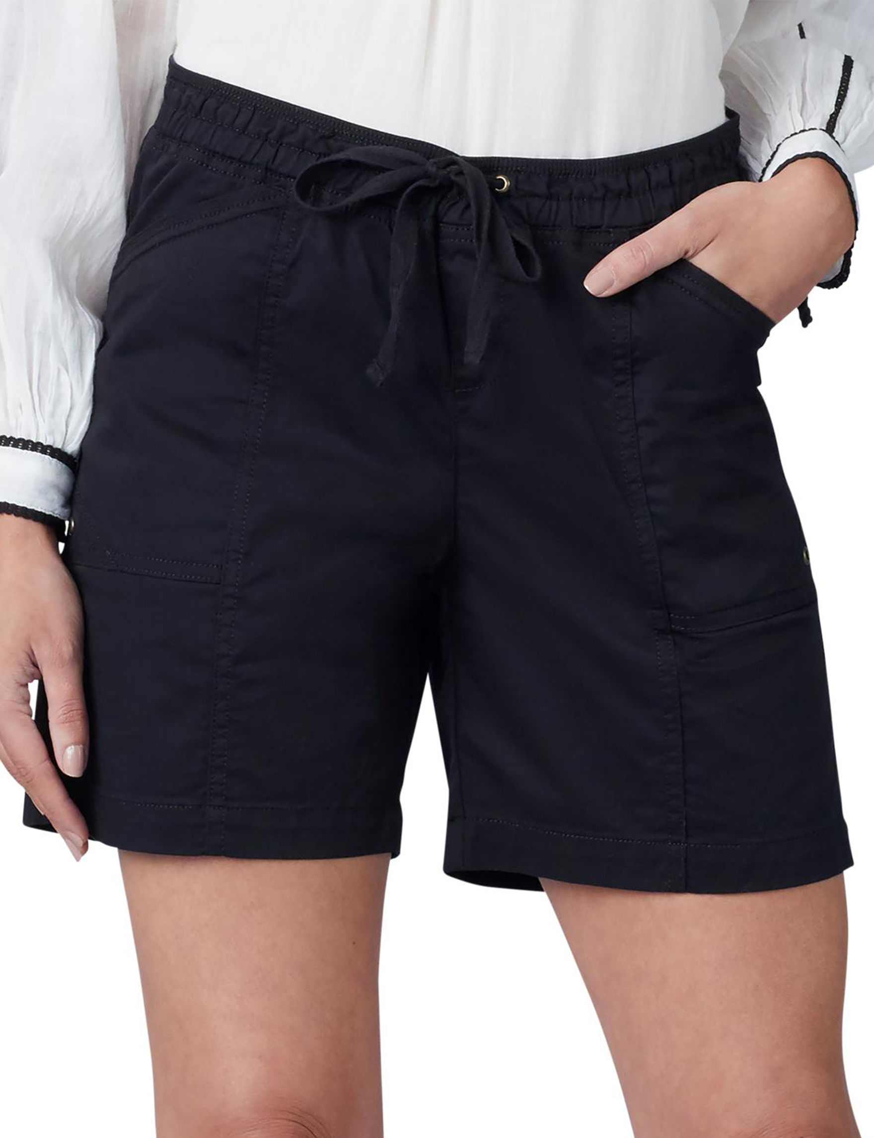 Lee Black Tailored Shorts