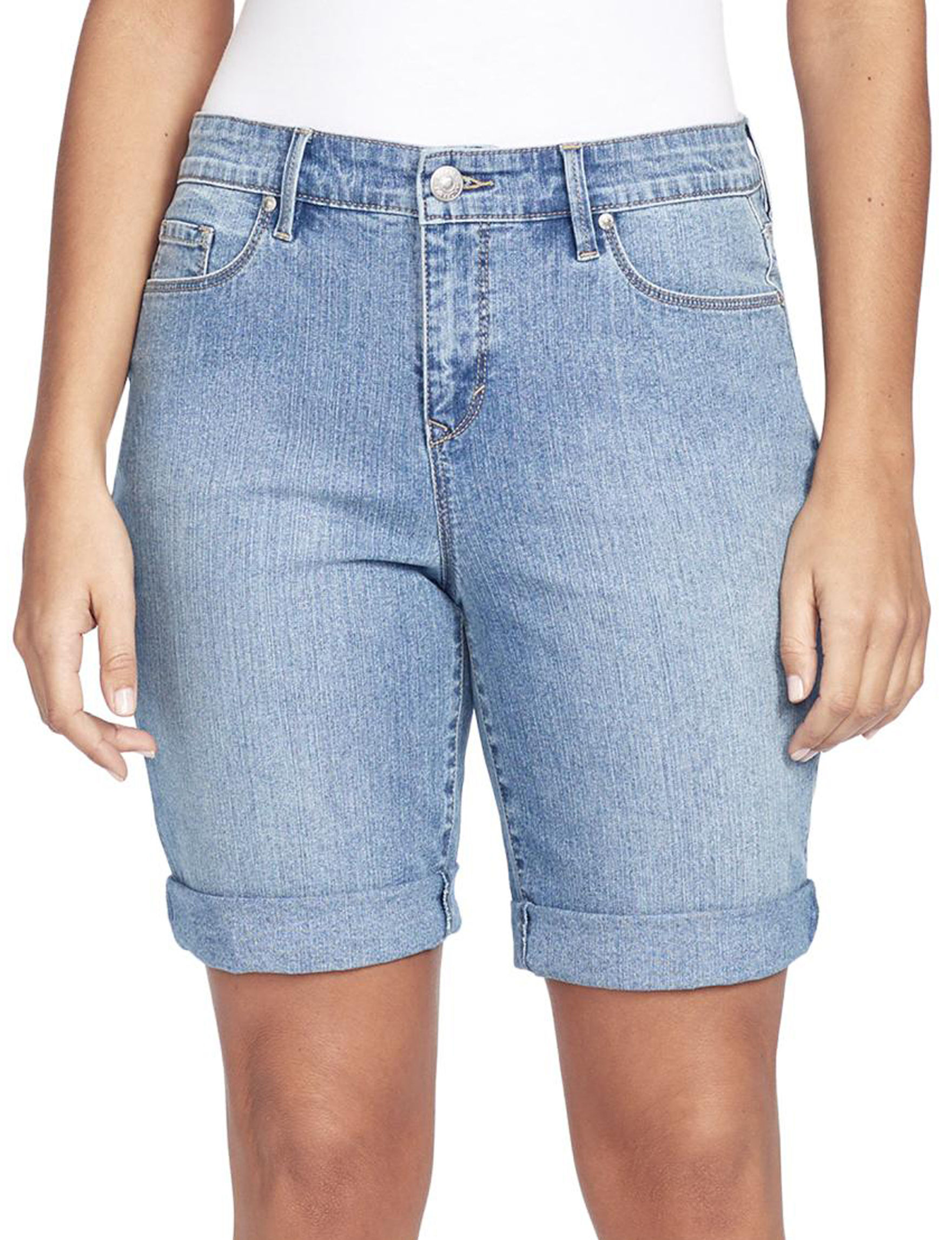 Gloria Vanderbilt Blue Denim Shorts