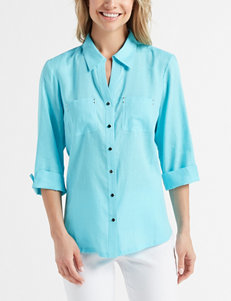 4705024fda72af Cathy Daniels Blue Radiance Shirts & Blouses