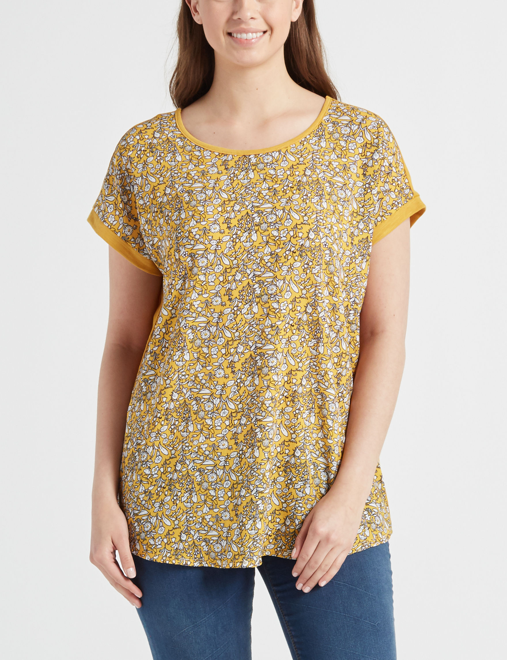 With Love Gold Shirts & Blouses