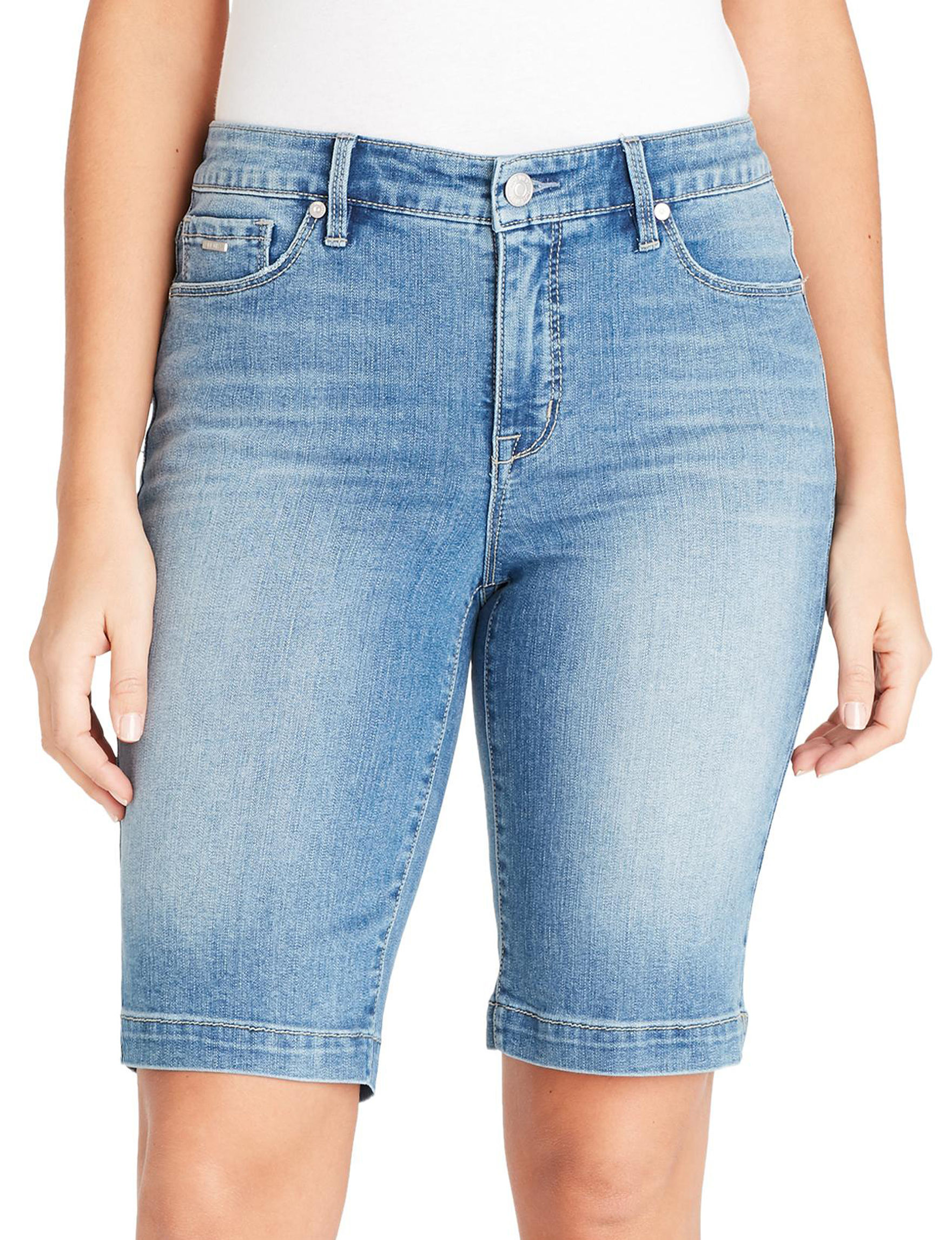 Nine West Blue Bermudas