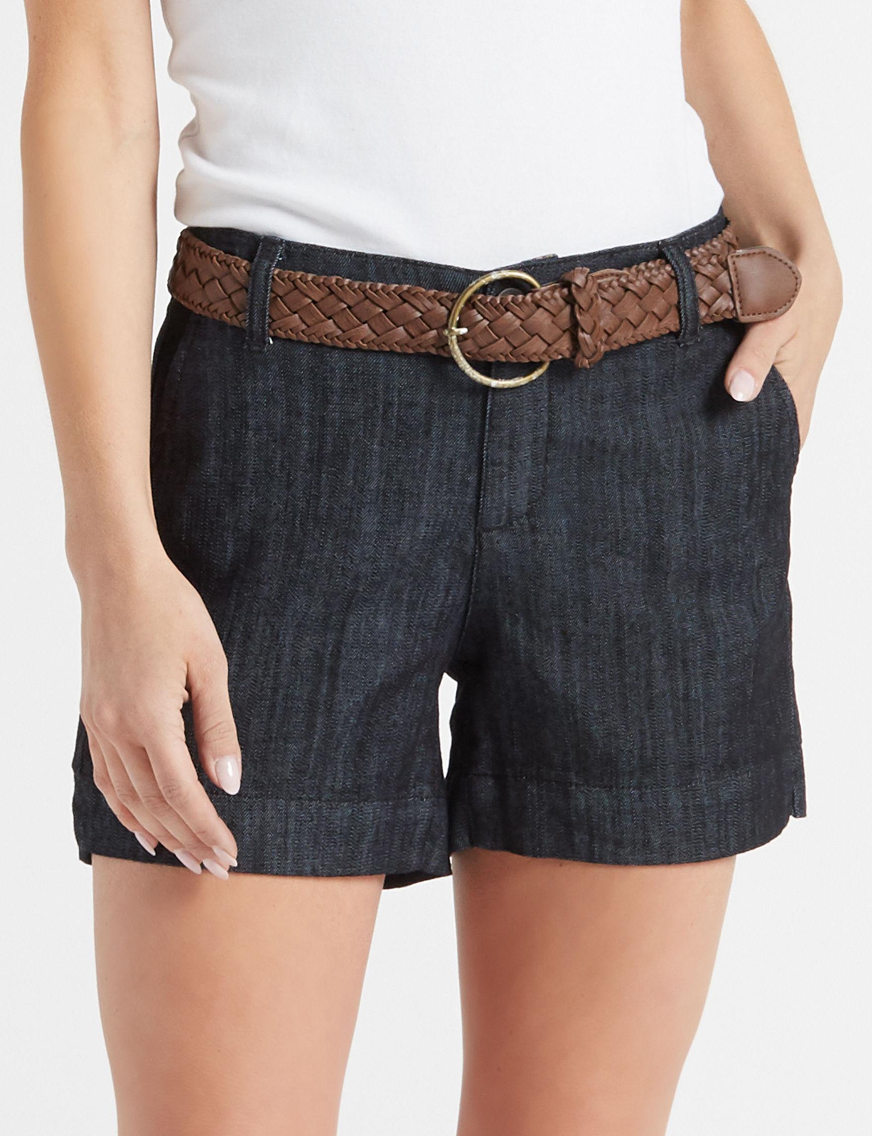 One 5 One Blue Denim Shorts
