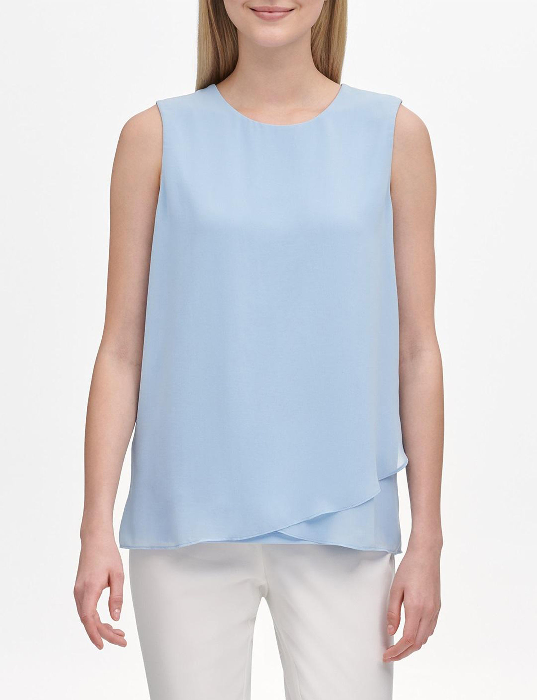 Calvin Klein Light Blue Shirts & Blouses