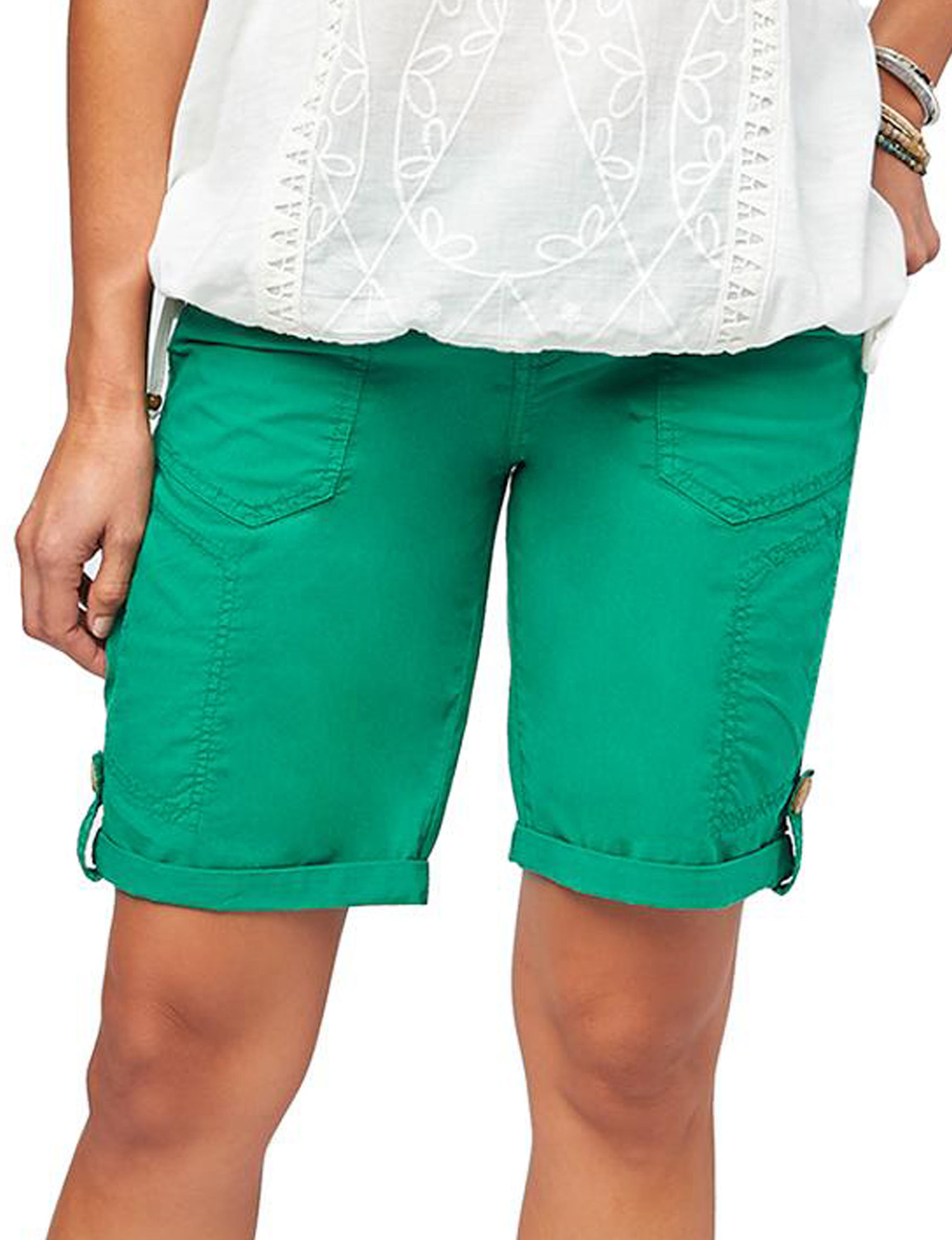 Democracy Green Bermudas