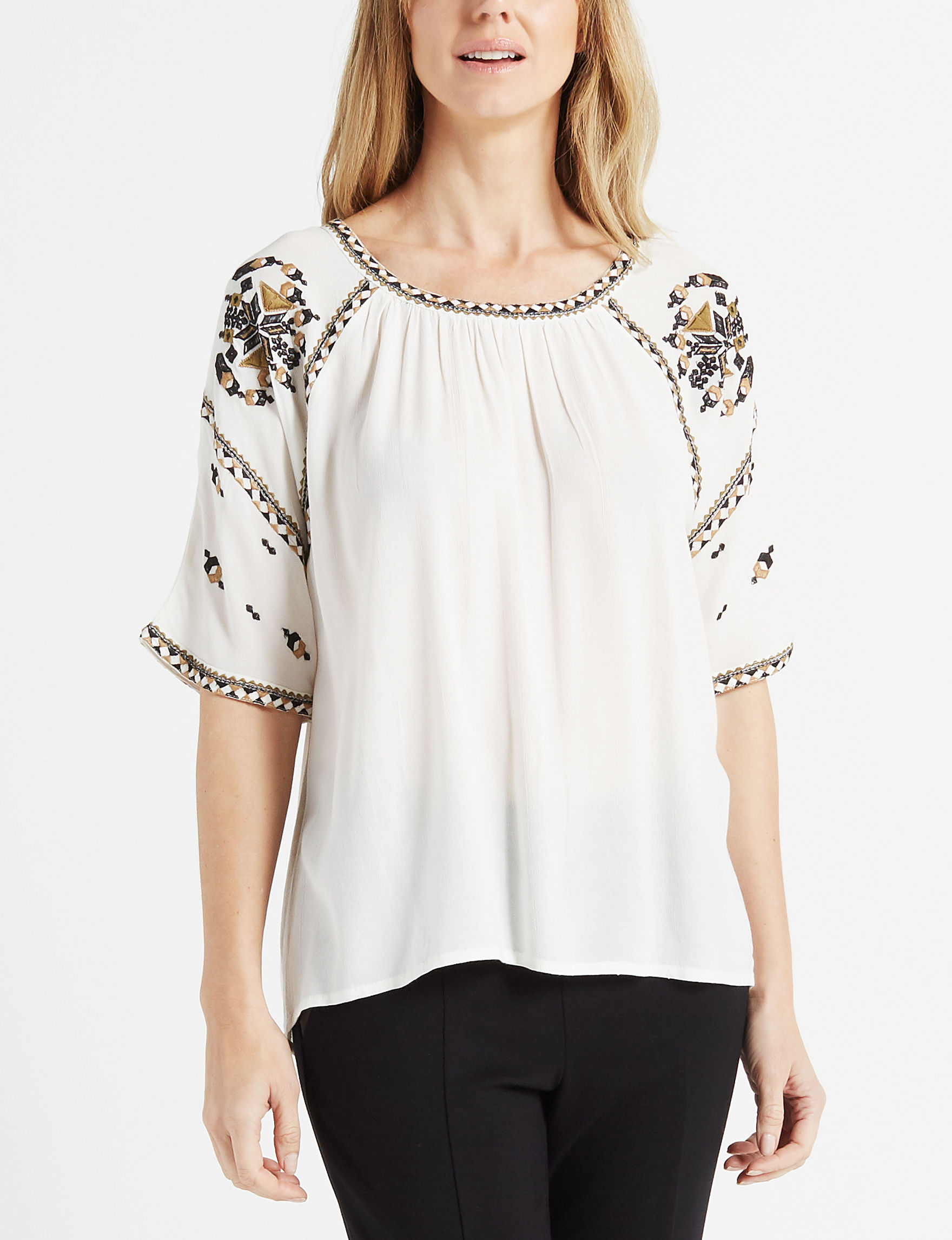 With Love White Shirts & Blouses