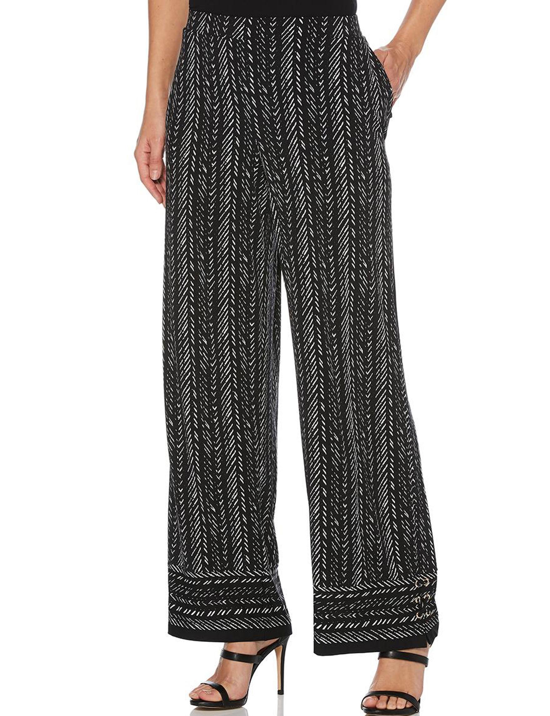 Rafaella Black Soft Pants