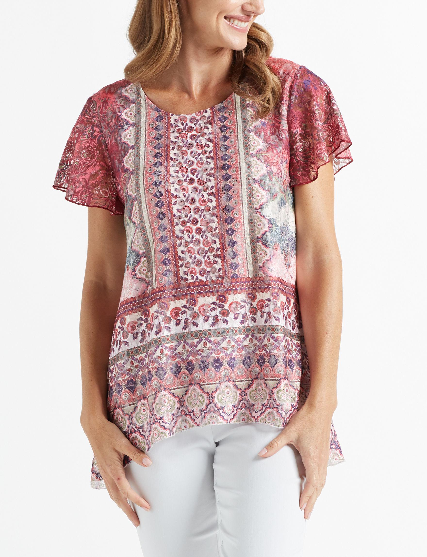 89th & Madison Sunset Shirts & Blouses