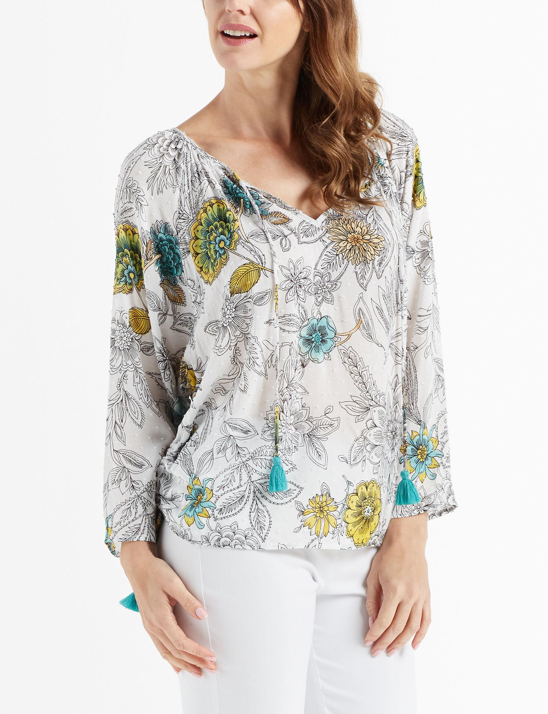 John Paul Richard White Shirts & Blouses