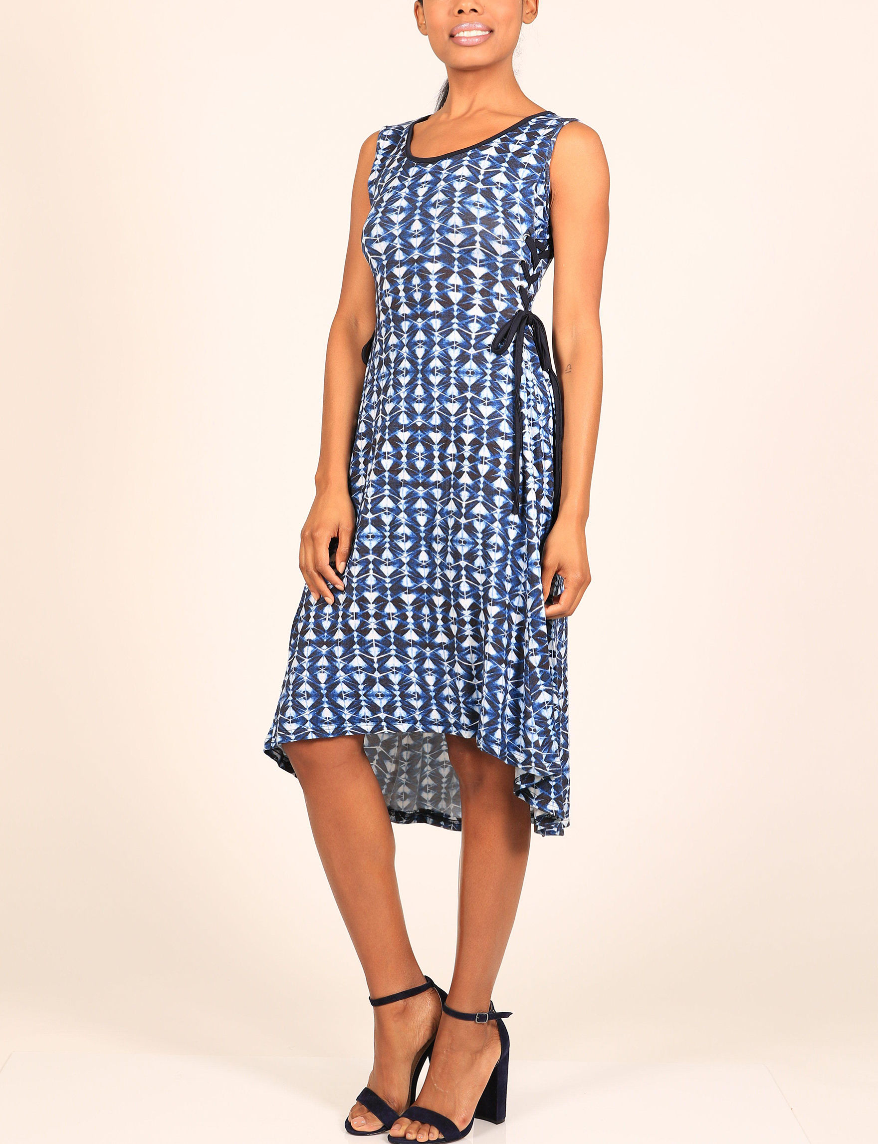 Skyes The Limit Blue Everyday & Casual Fit & Flare Dresses