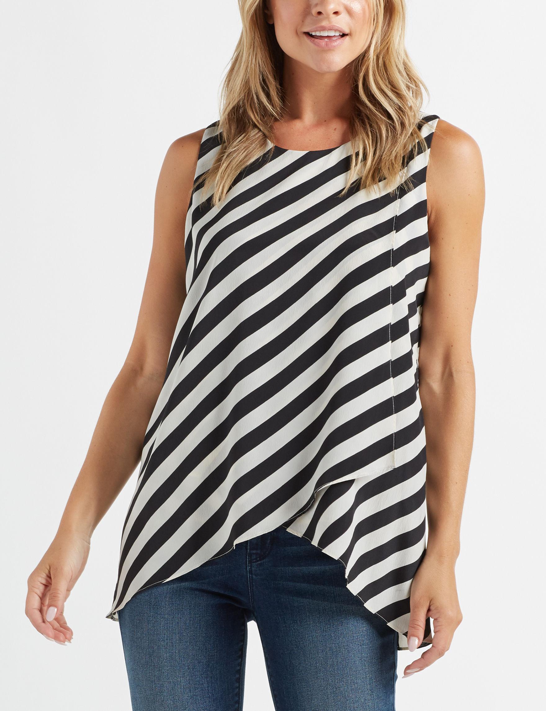 Zac & Rachel Ivory Shirts & Blouses