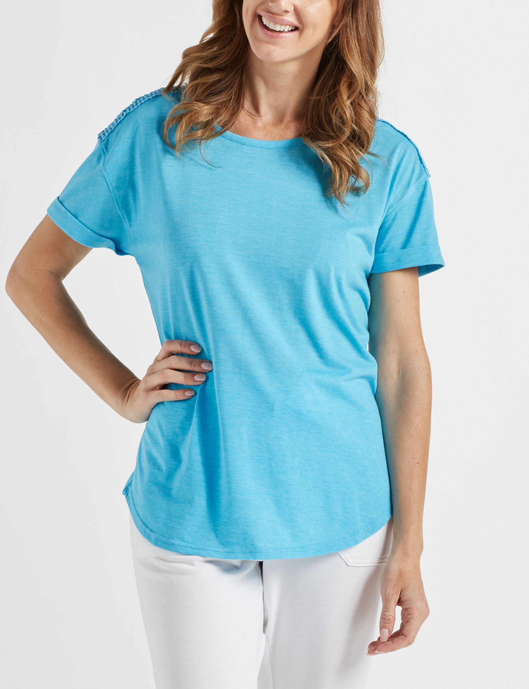 Onyx Blue Shirts & Blouses