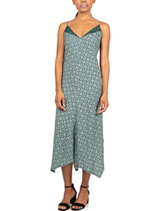 Skyes The Limit Green Multi Everyday & Casual