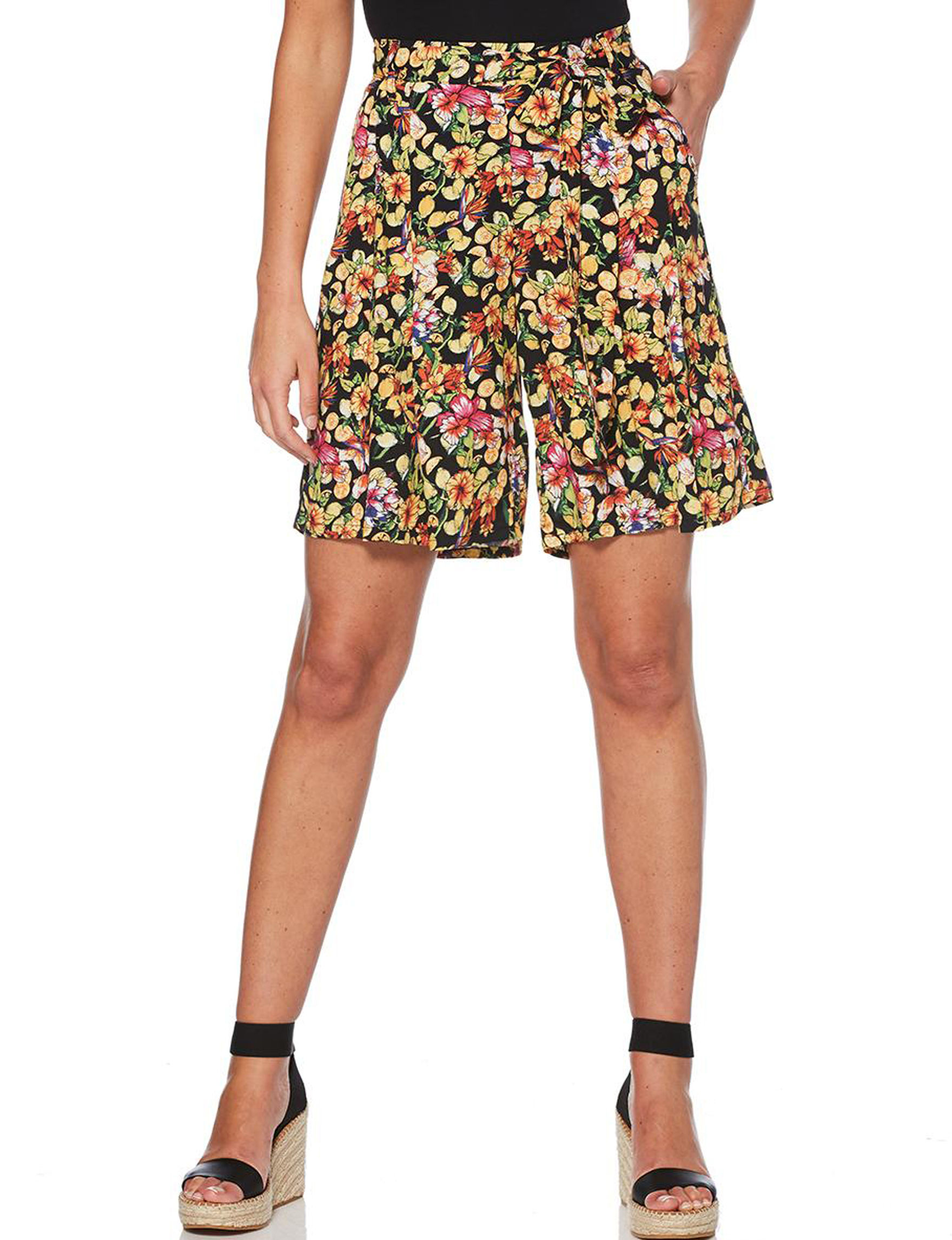 Rafaella Black Soft Shorts