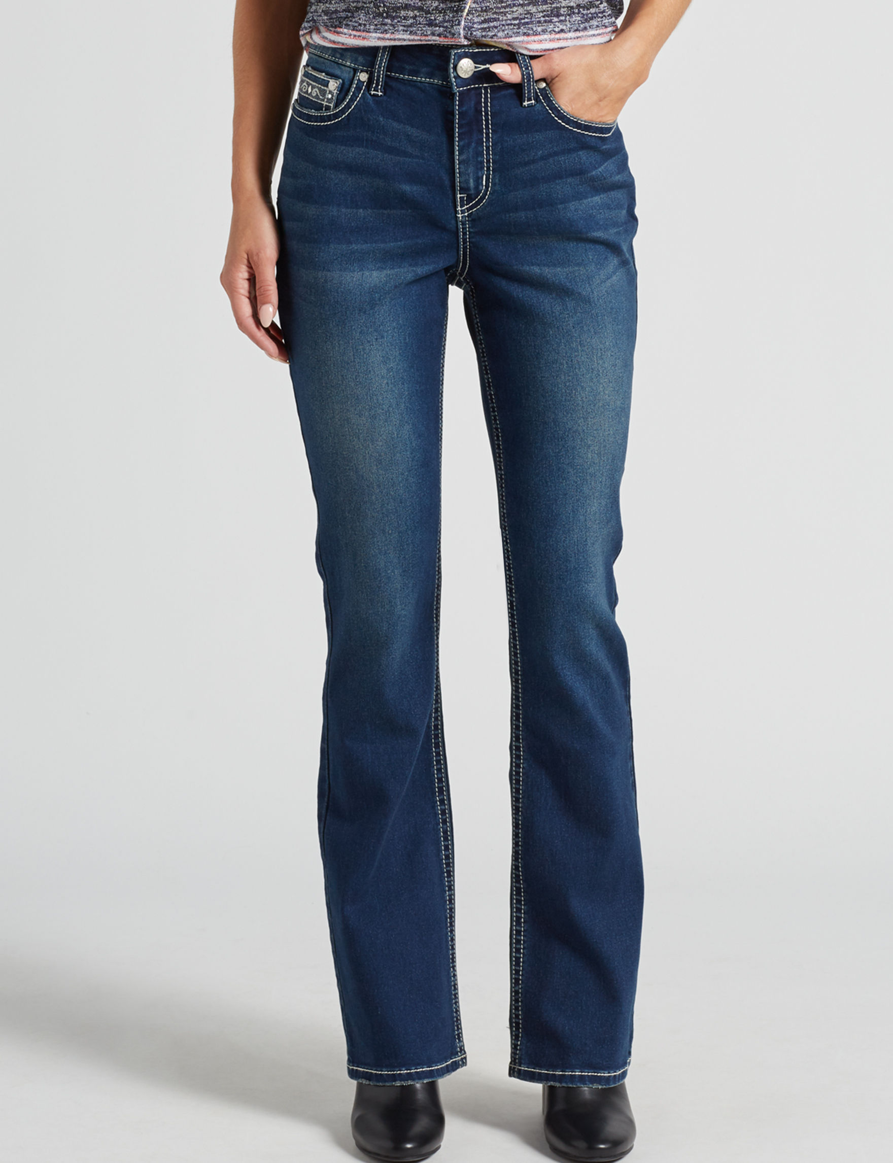 Love Indigo Dark Wash Bootcut