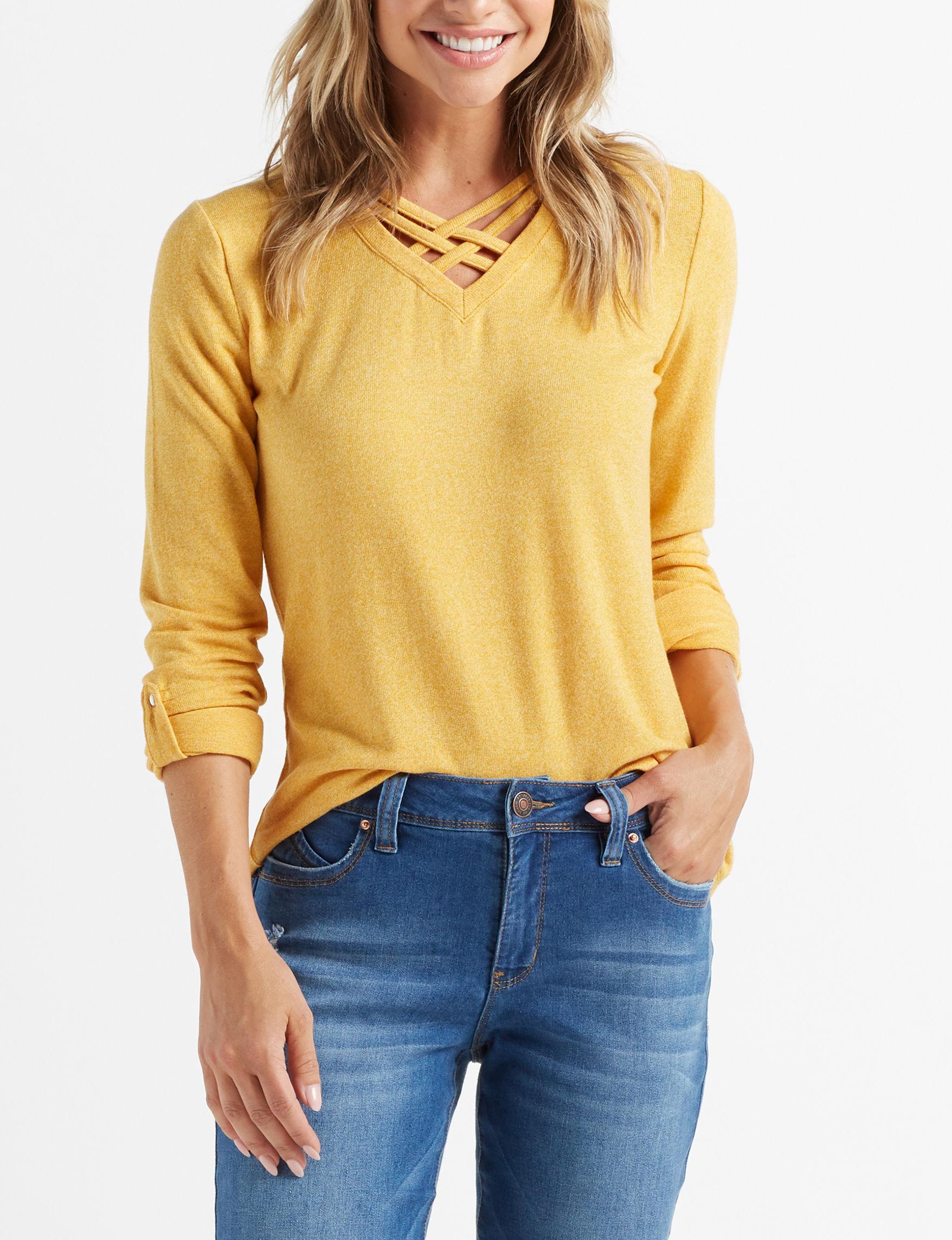Thyme & Honey Mustard Shirts & Blouses