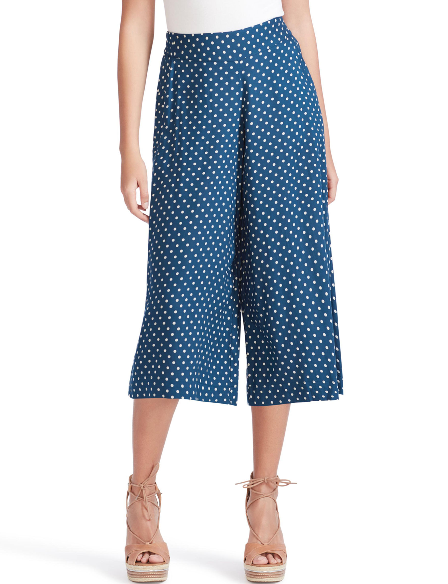 Jessica Simpson Blue Capris & Crops Soft Pants