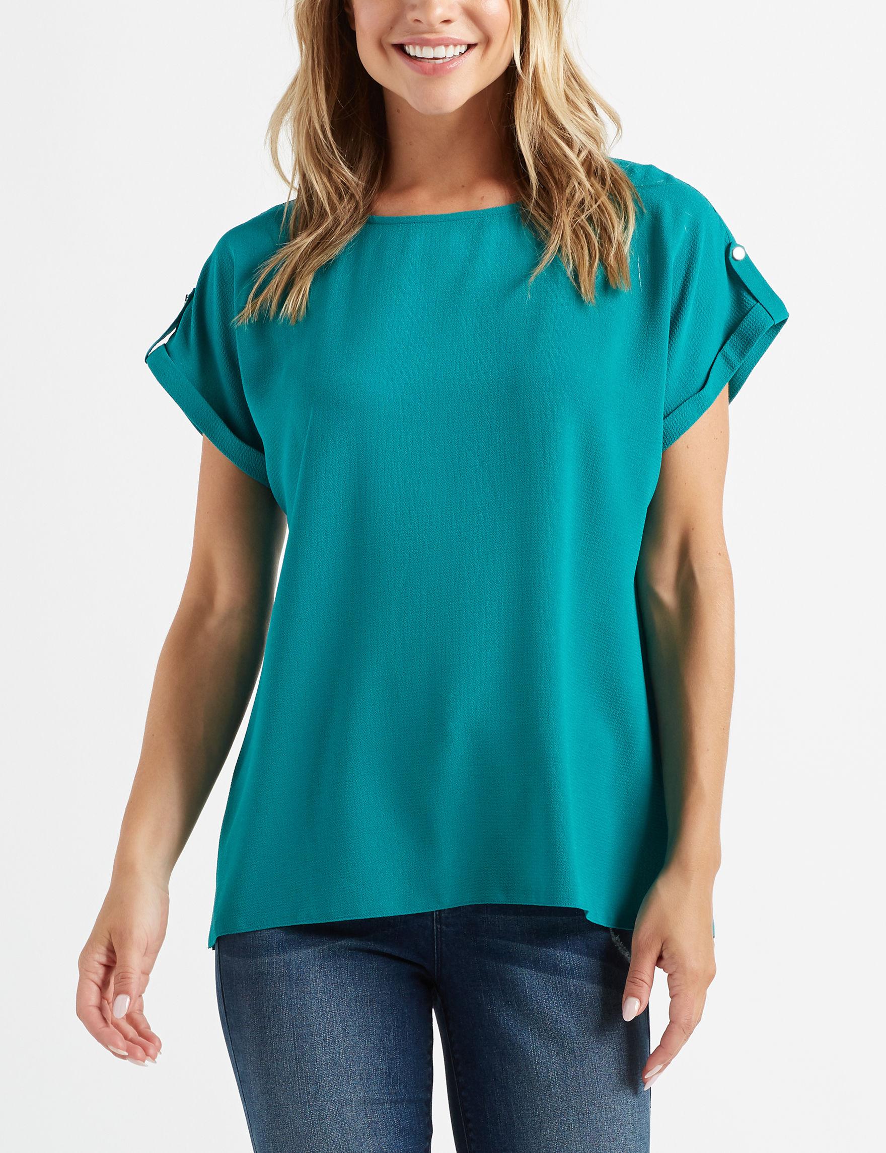 Counterparts Green Shirts & Blouses