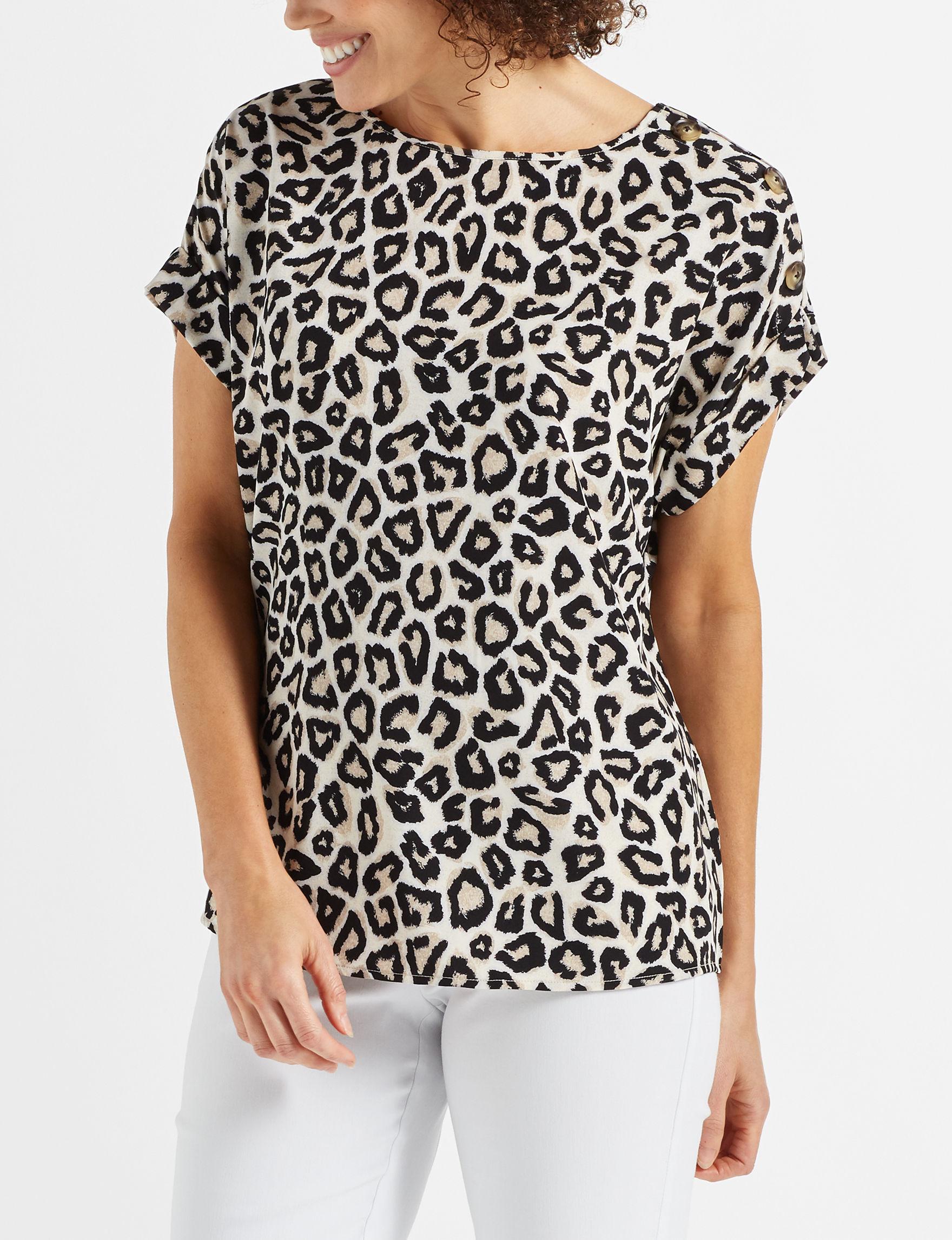 Como Blu White Shirts & Blouses